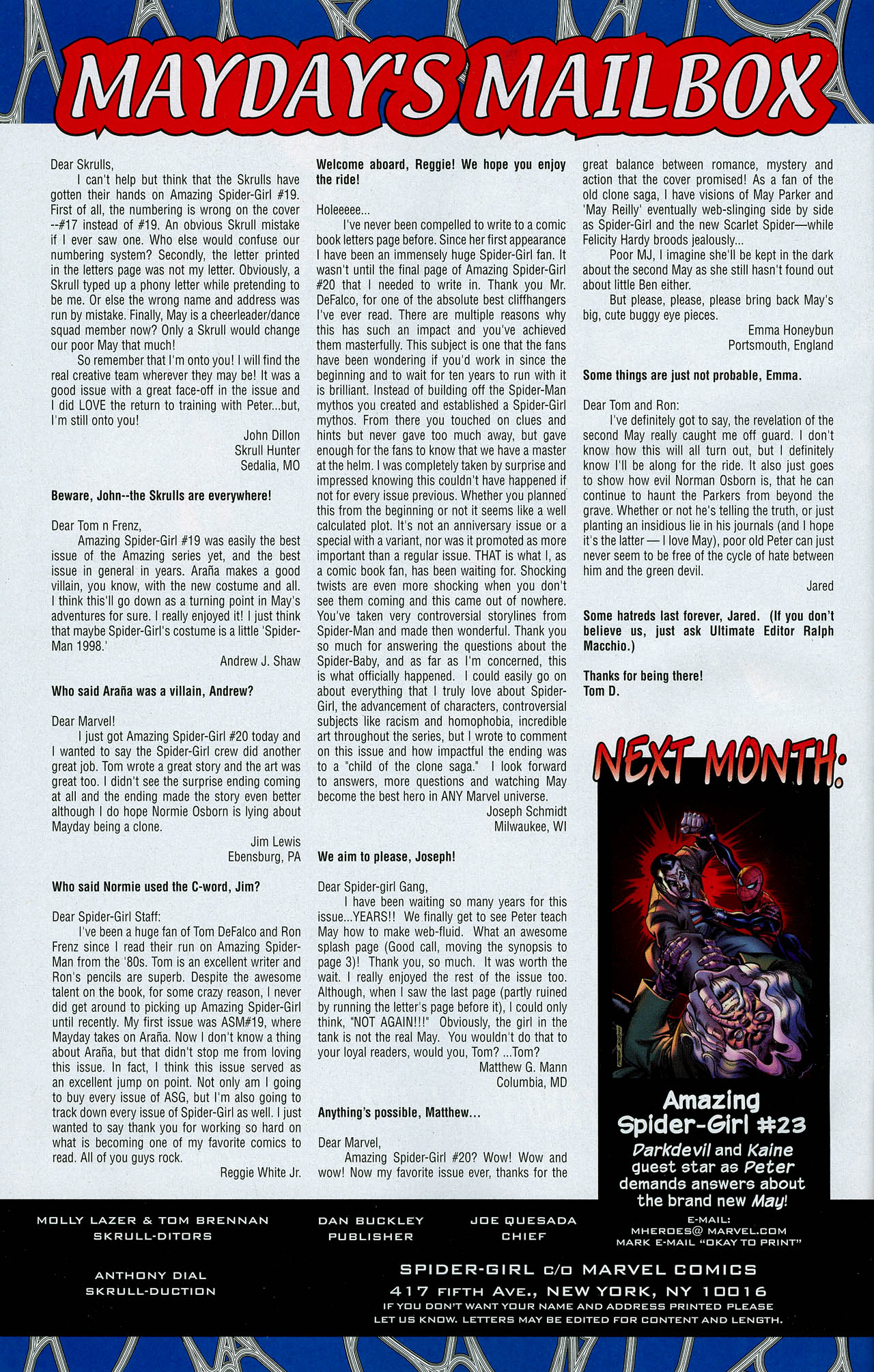 Read online Amazing Spider-Girl comic -  Issue #22 - 34