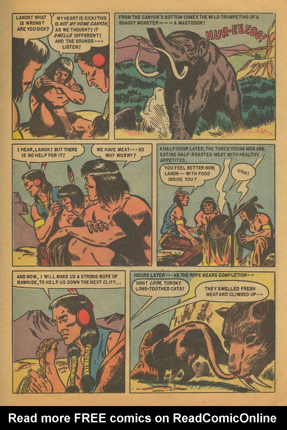 Read online Turok, Son of Stone comic -  Issue #4 - 21