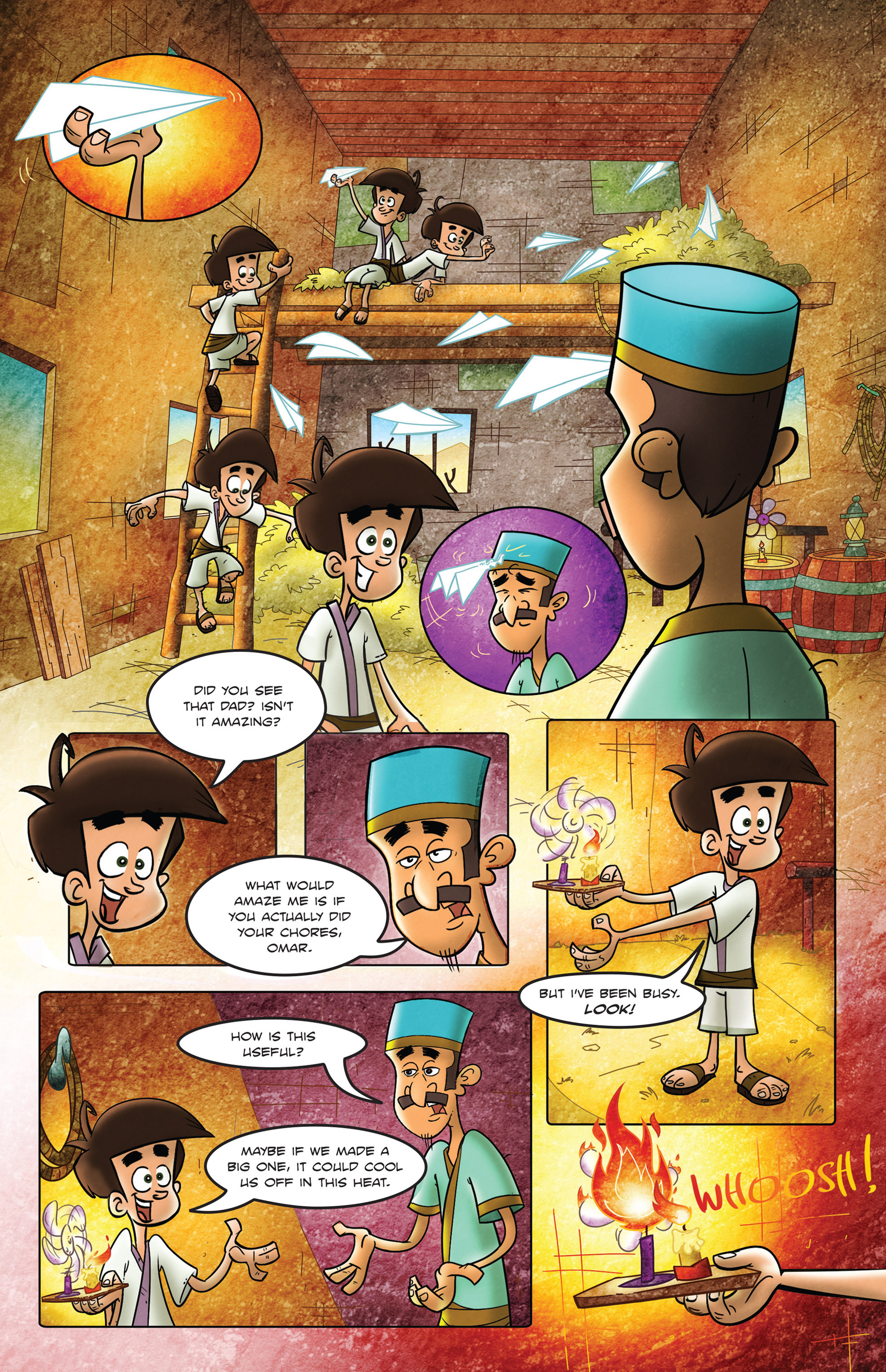Read online 1001 Nights comic -  Issue #2 - 6