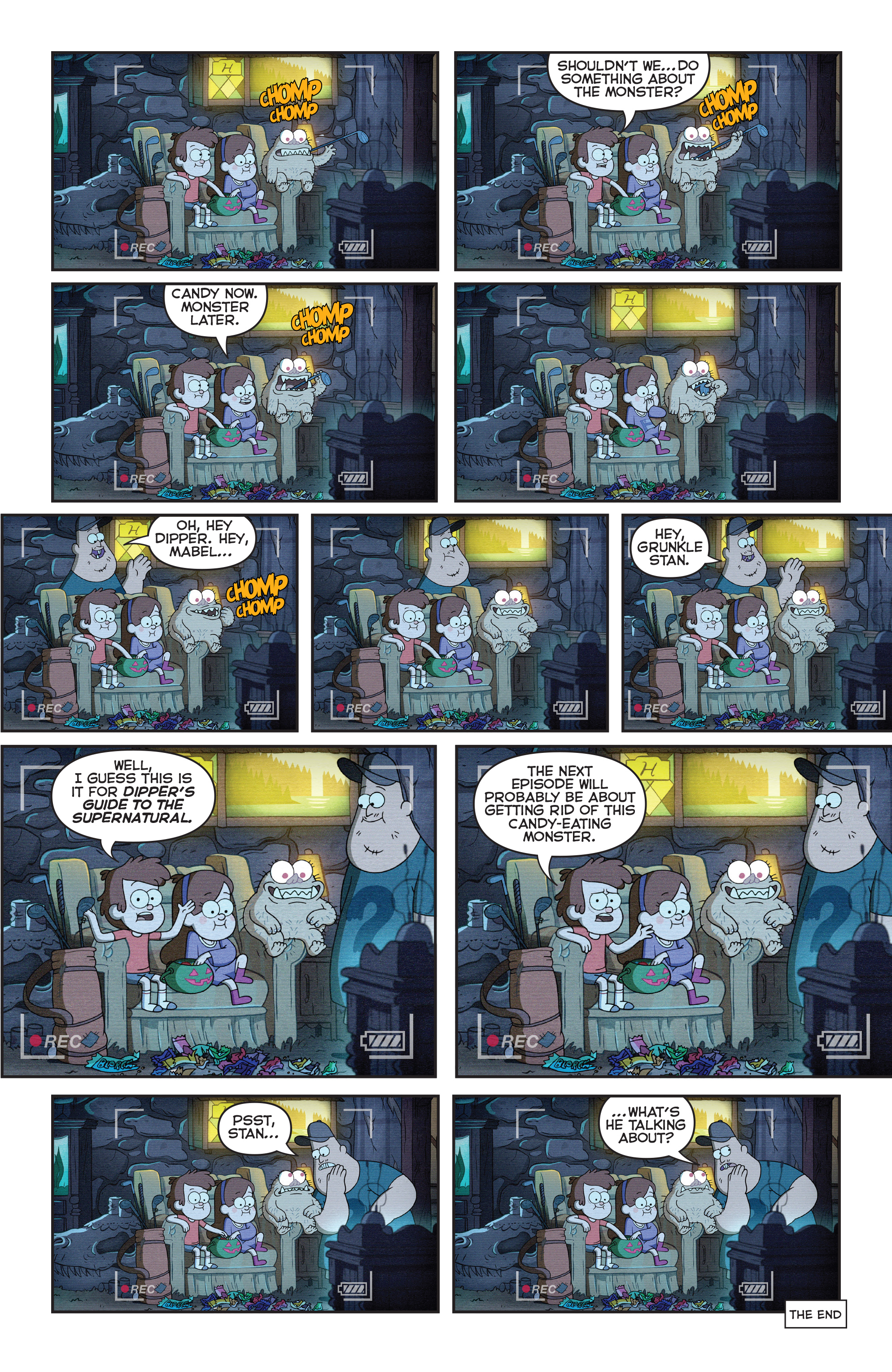 Read online Disney Gravity Falls Shorts Cinestory Comic comic -  Issue #1 - 11