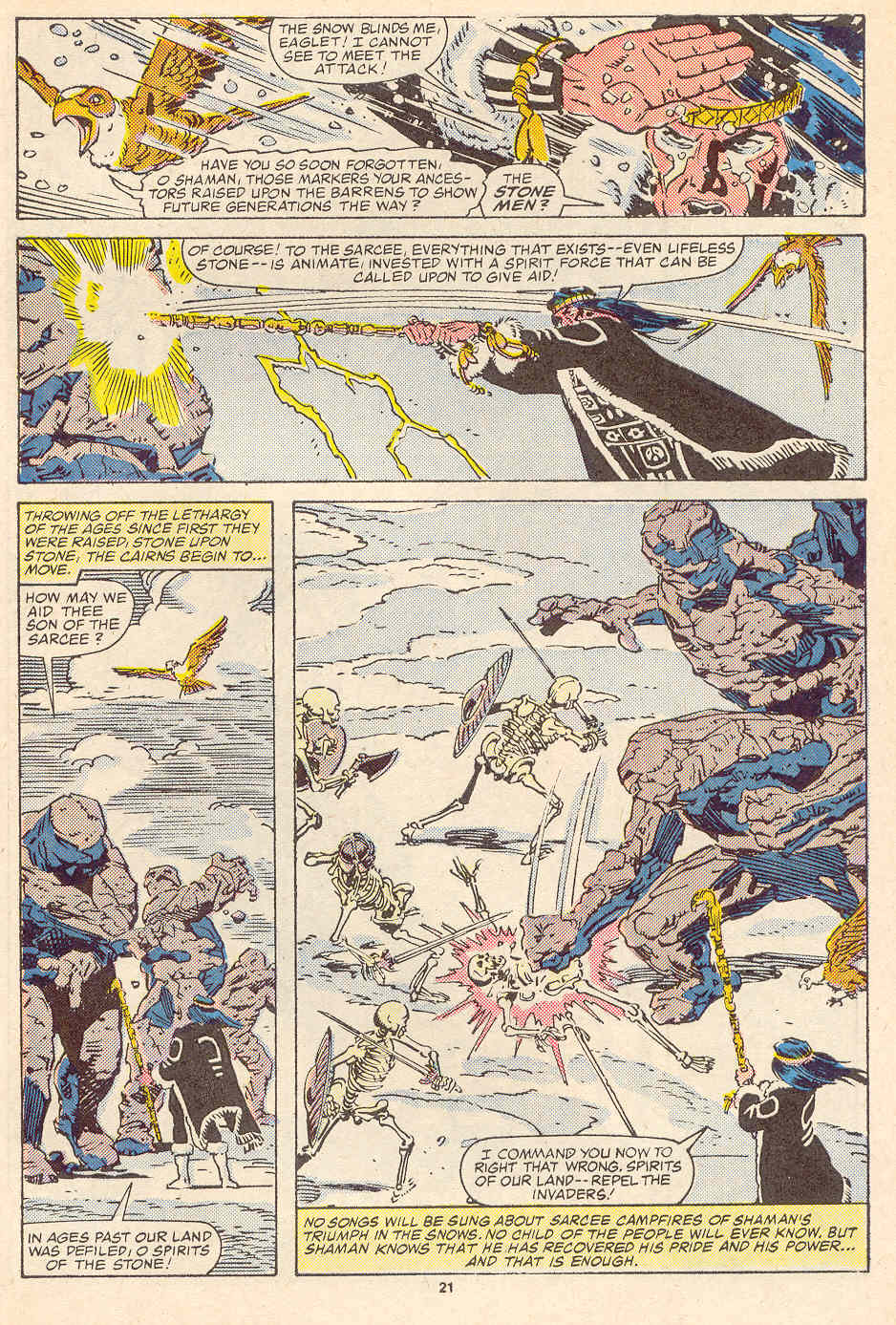 Read online Alpha Flight (1983) comic -  Issue #35 - 23