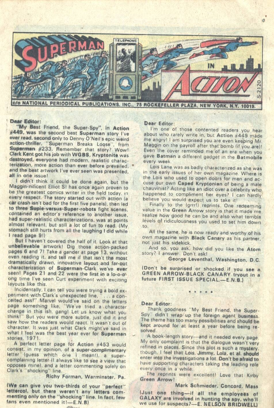 Read online Action Comics (1938) comic -  Issue #453 - 9
