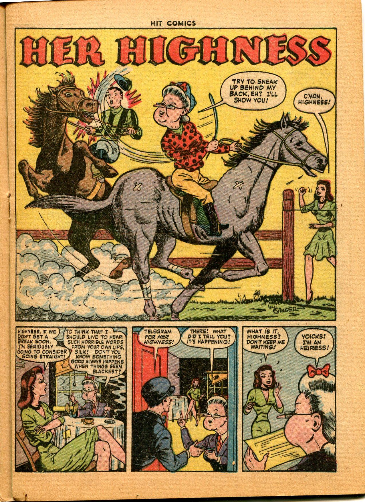 Read online Hit Comics comic -  Issue #35 - 25