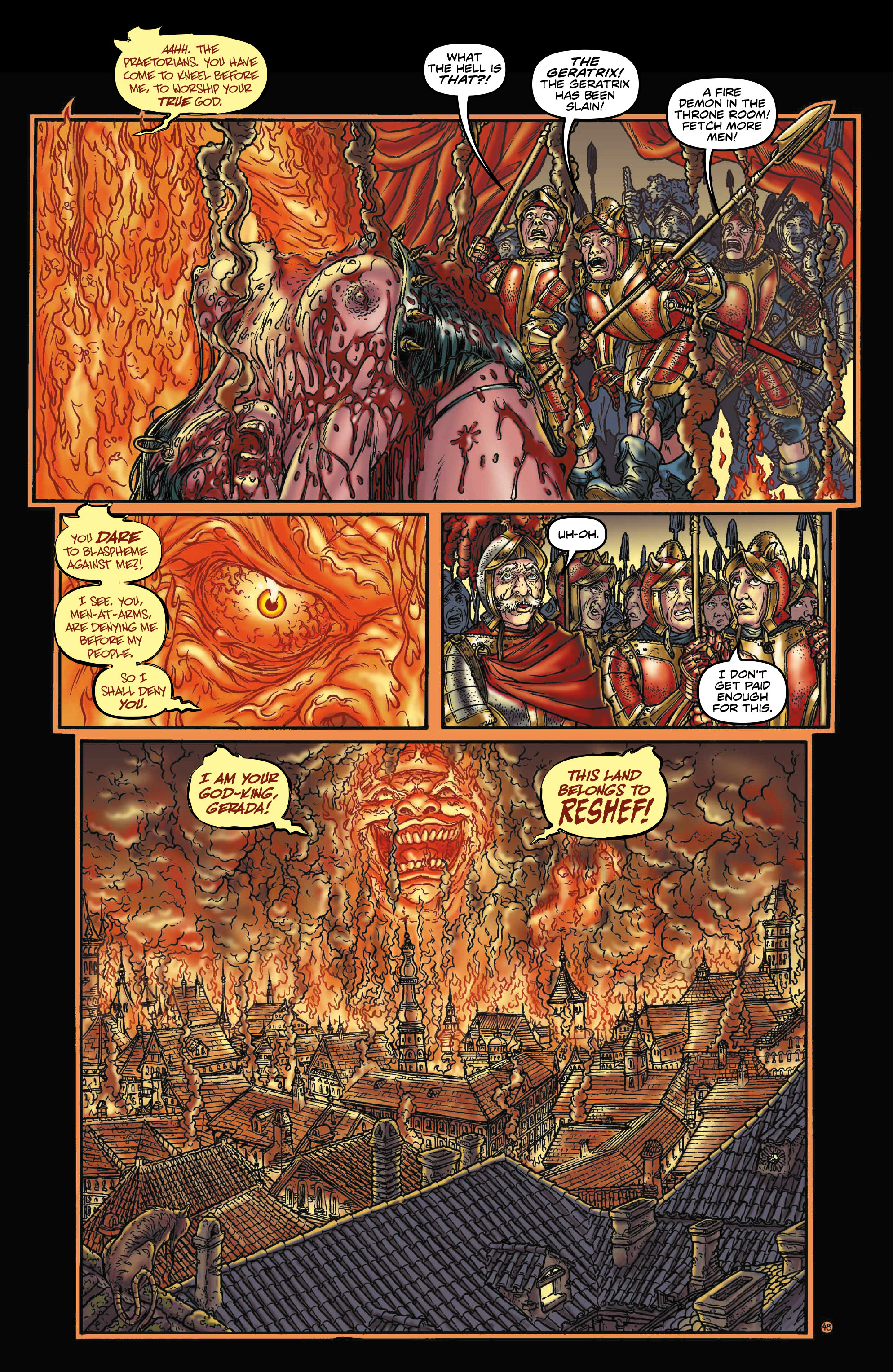 Read online Rogues!: The Burning Heart comic -  Issue #3 - 6