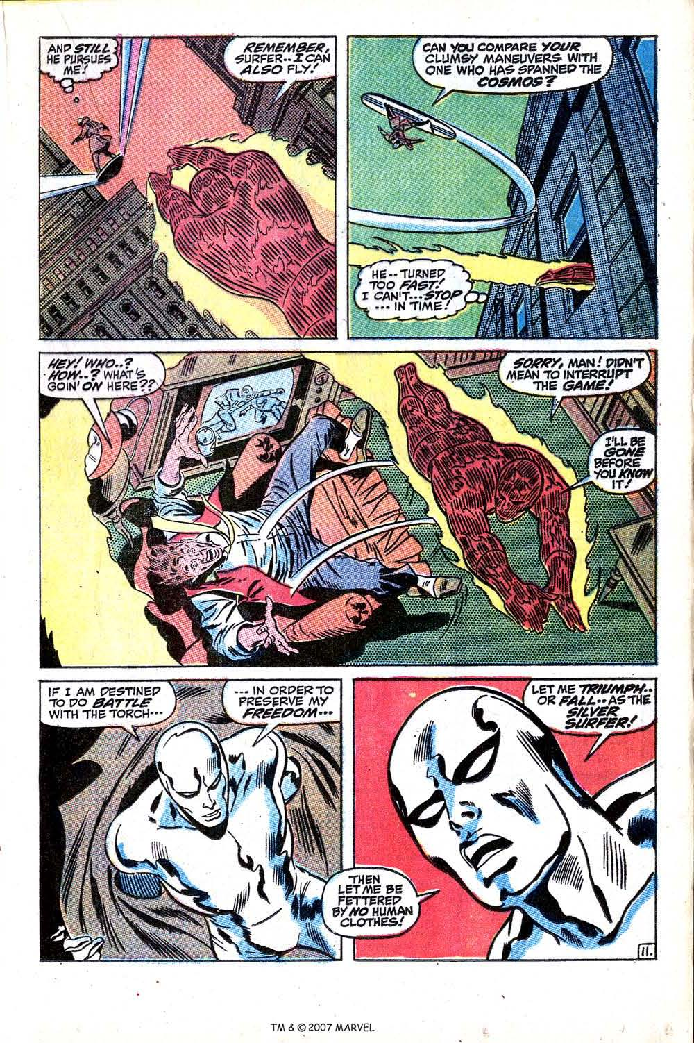 Read online Silver Surfer (1968) comic -  Issue #15 - 17