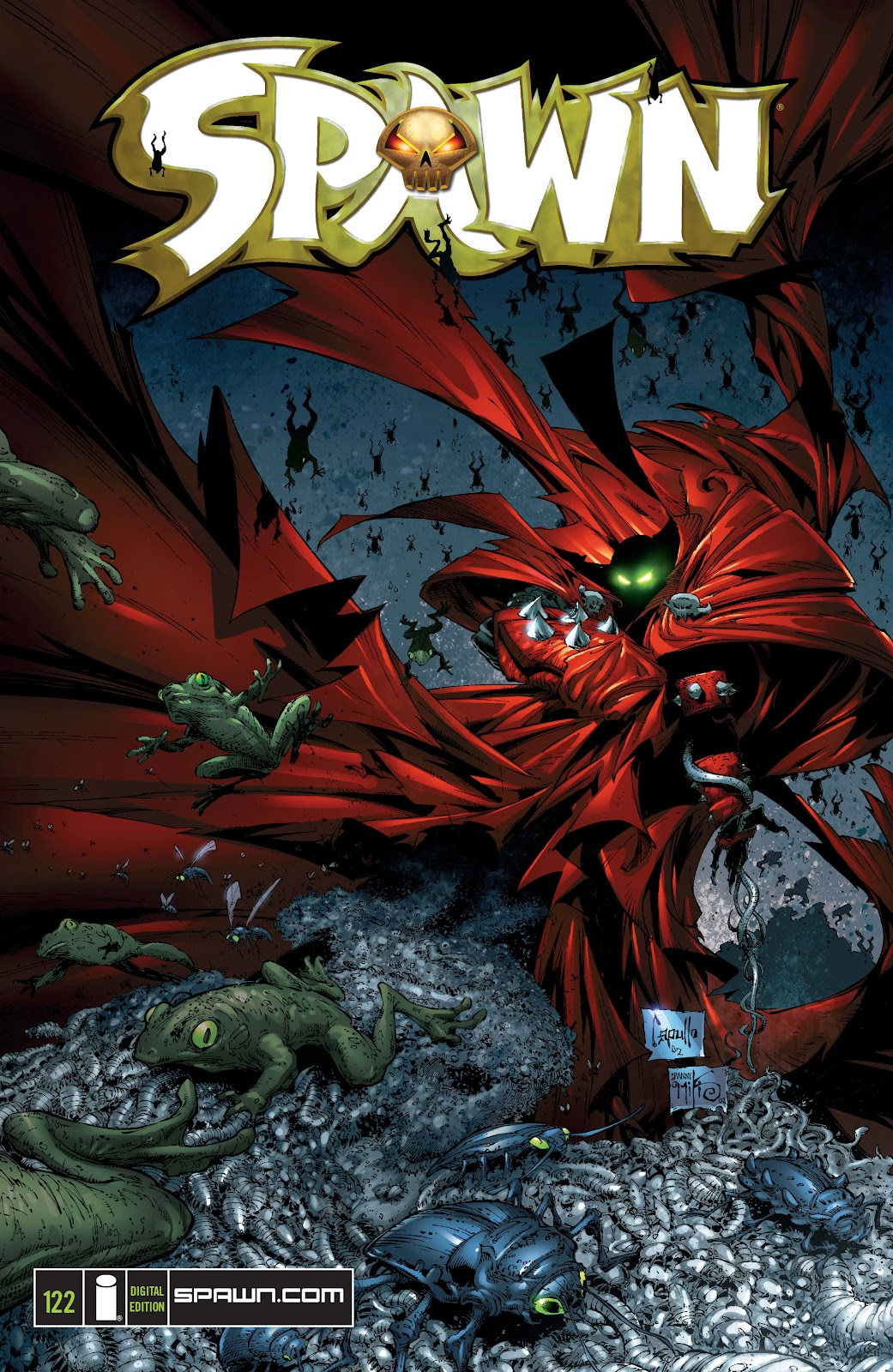 Spawn 122 Page 1