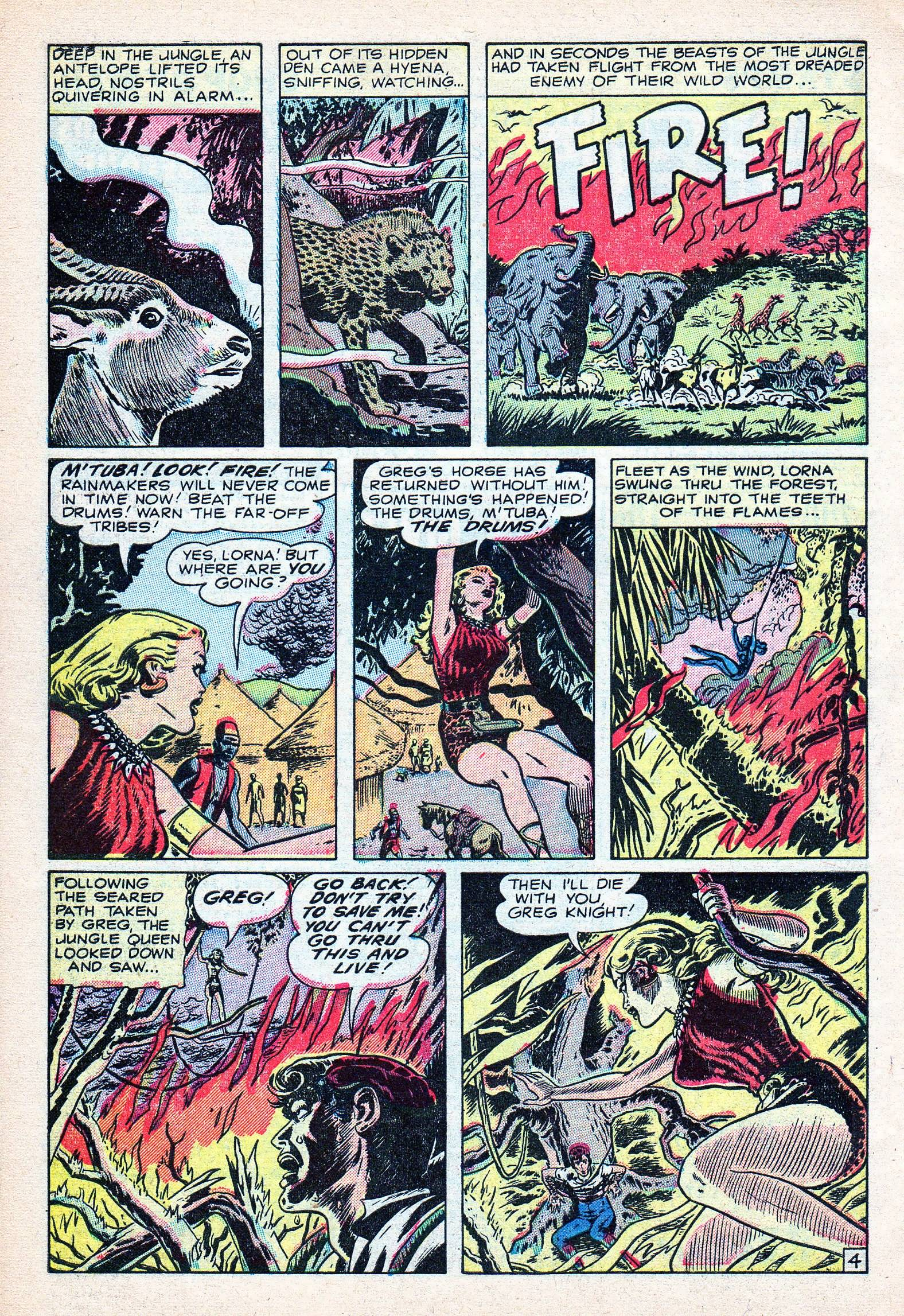 Read online Lorna, The Jungle Queen comic -  Issue #3 - 30
