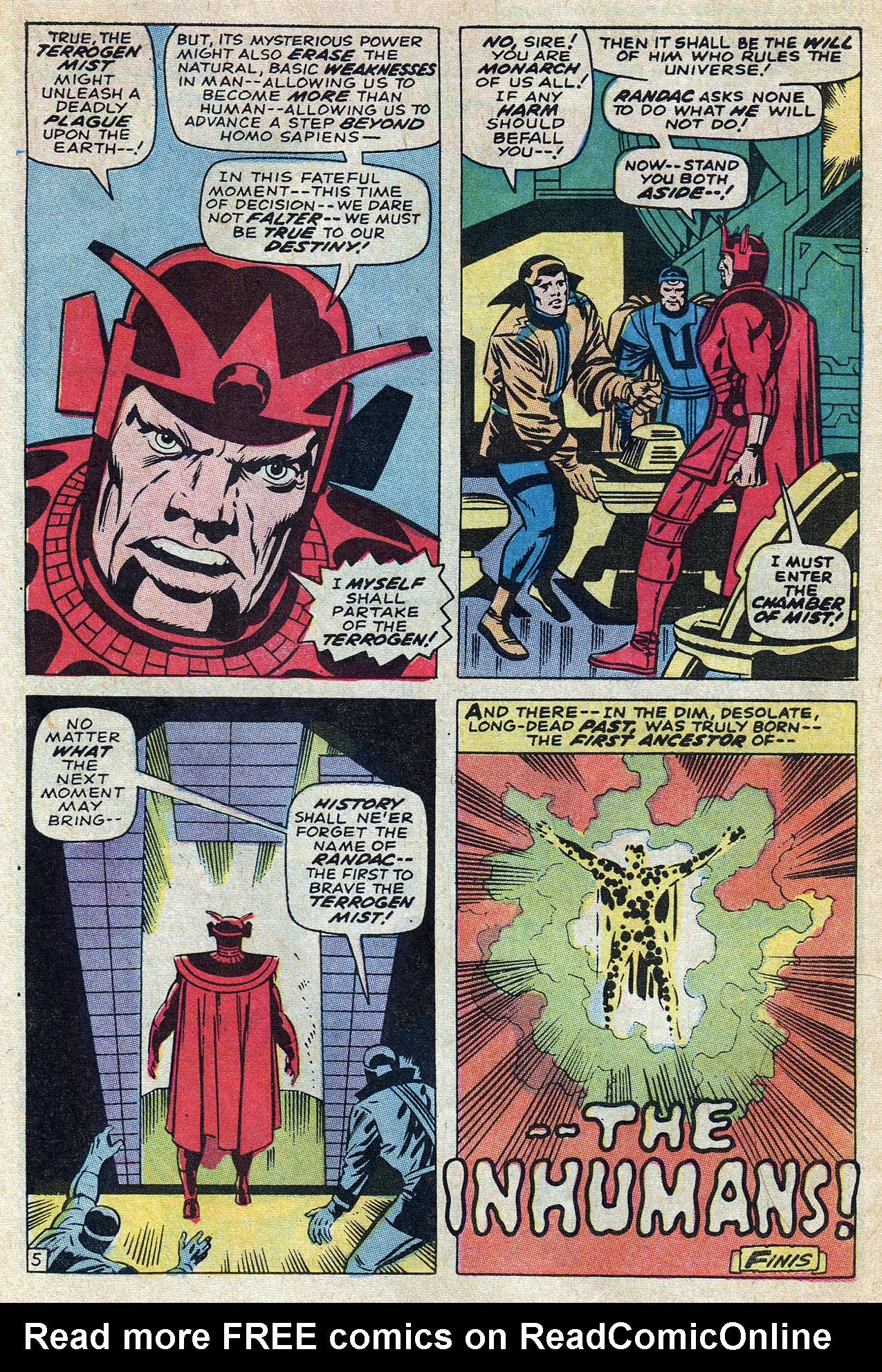 Read online Amazing Adventures (1970) comic -  Issue #10 - 30