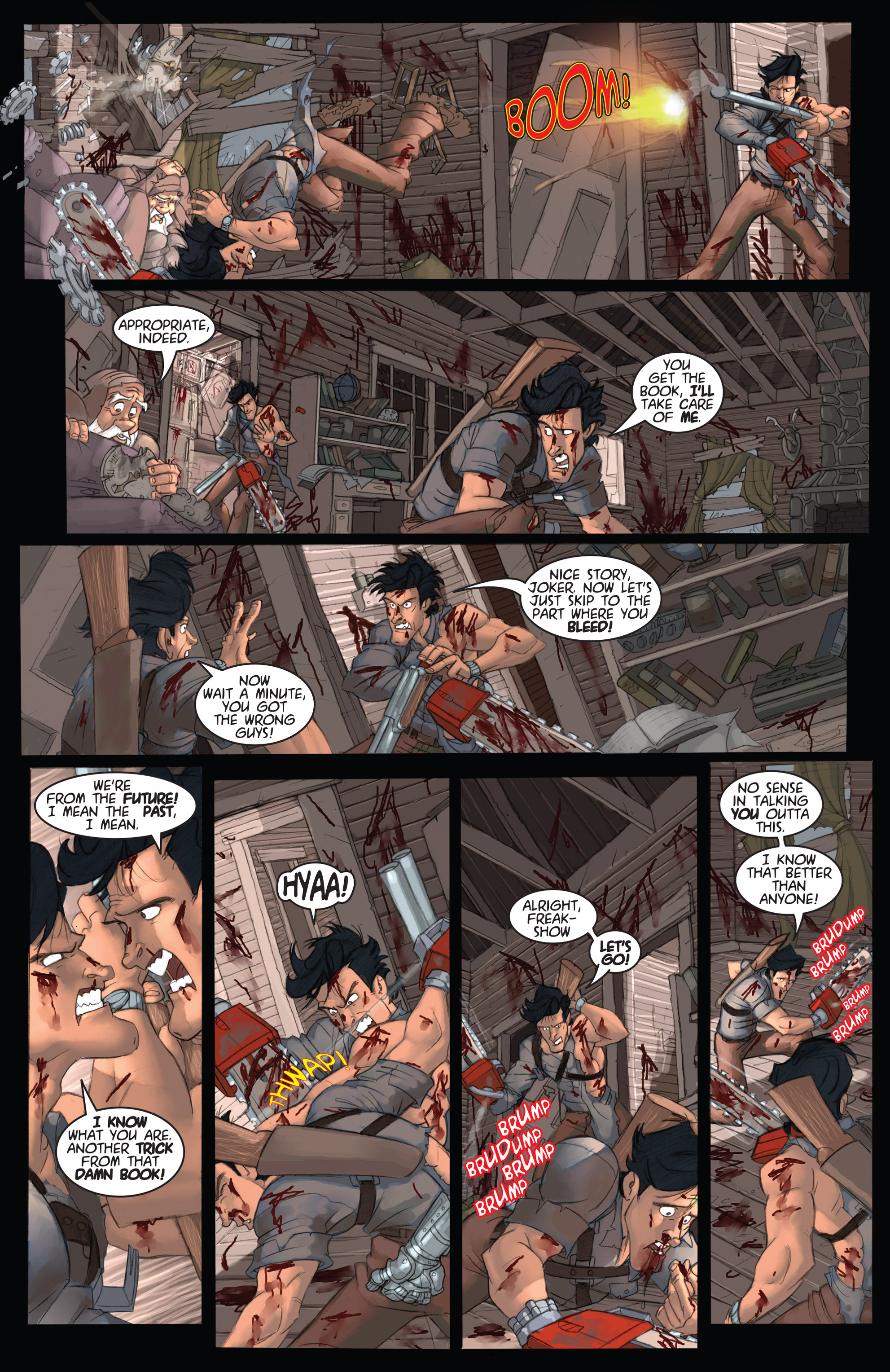 Read online Army of Darkness: Ashes 2 Ashes comic -  Issue #2 - 15
