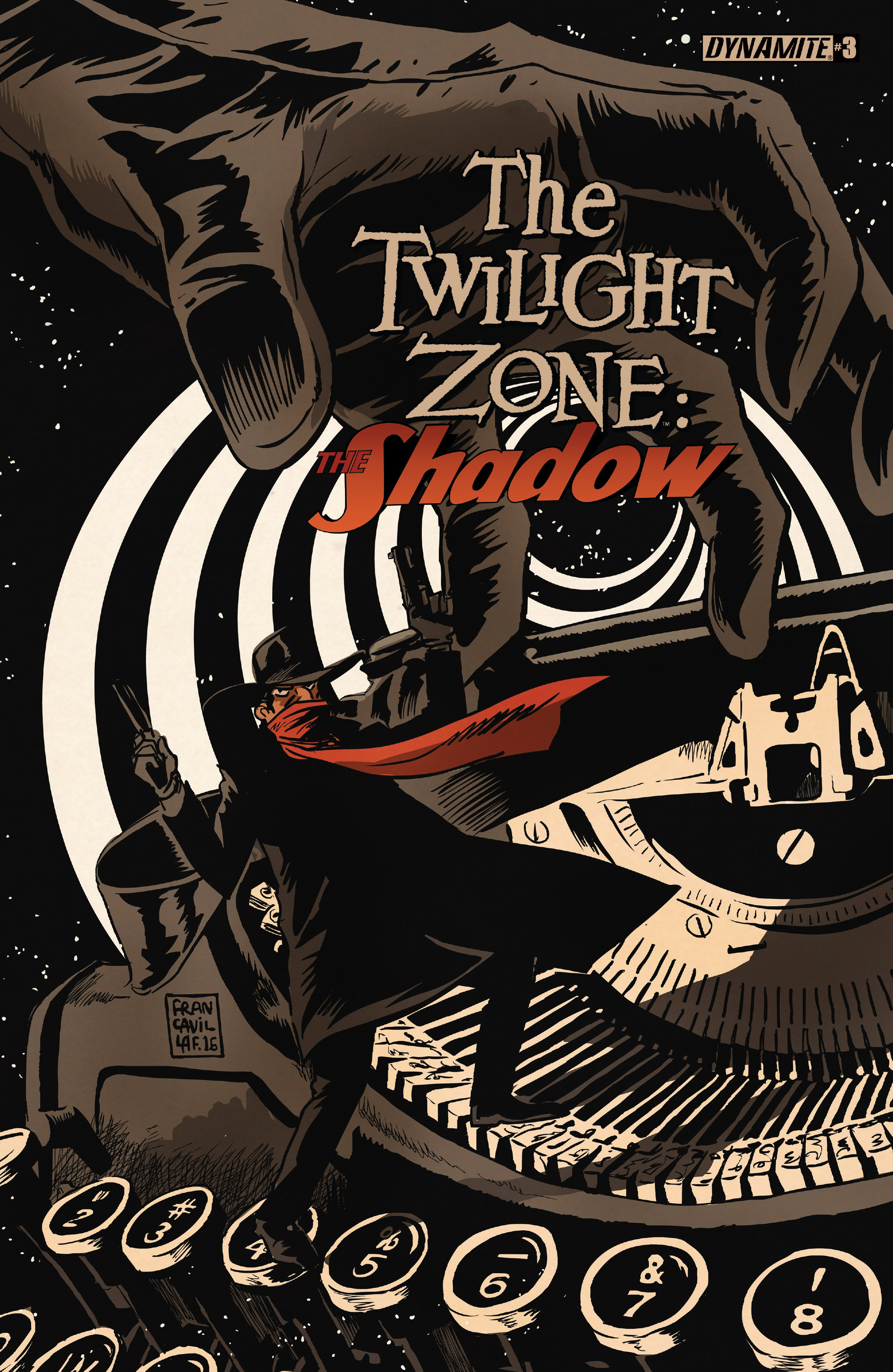 Read online Twilight Zone The Shadow comic -  Issue #3 - 1