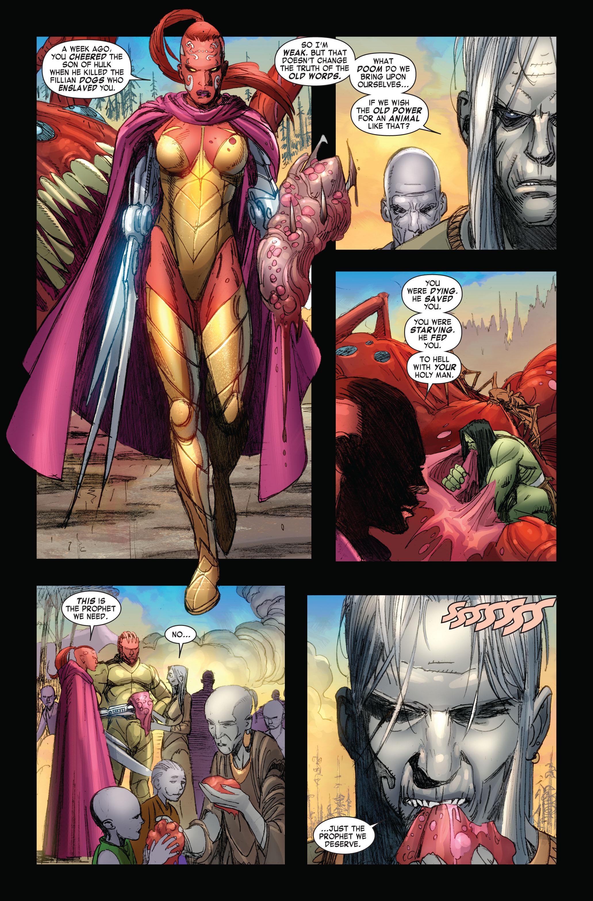 Read online Skaar: Son of Hulk comic -  Issue #4 - 10