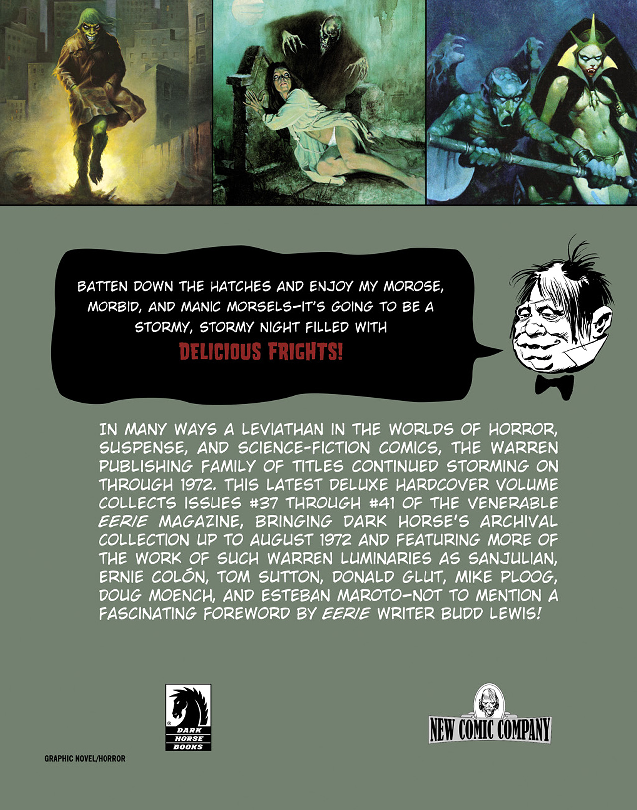 Read online Eerie Archives comic -  Issue # TPB 8 - 314