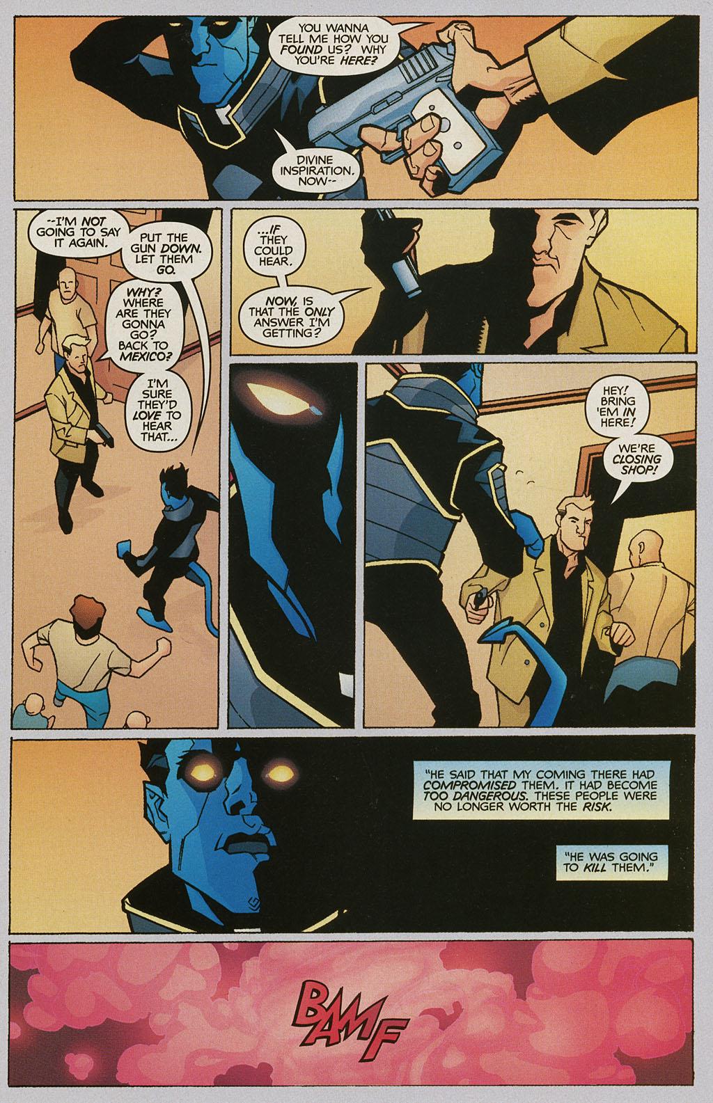 Read online Nightcrawler (2002) comic -  Issue #2 - 15