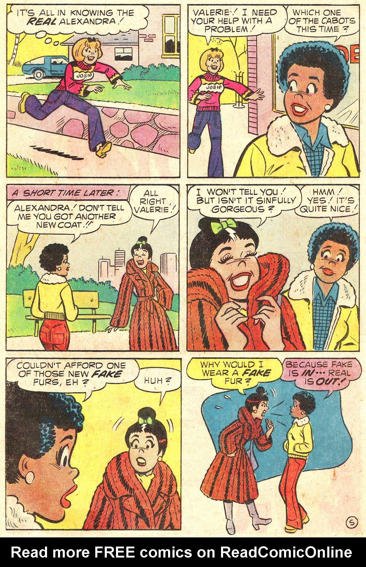 Read online She's Josie comic -  Issue #95 - 17
