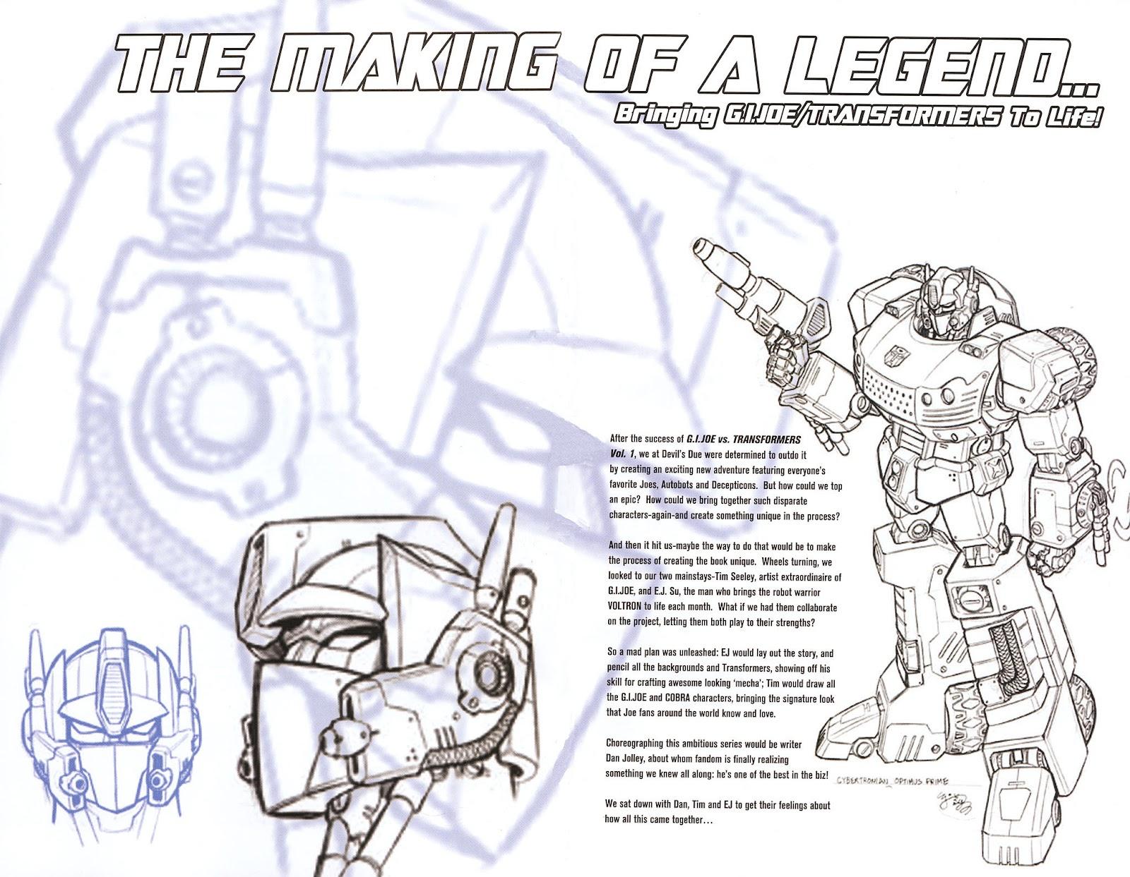 G.I. Joe vs. The Transformers II Issue #0 #1 - English 4