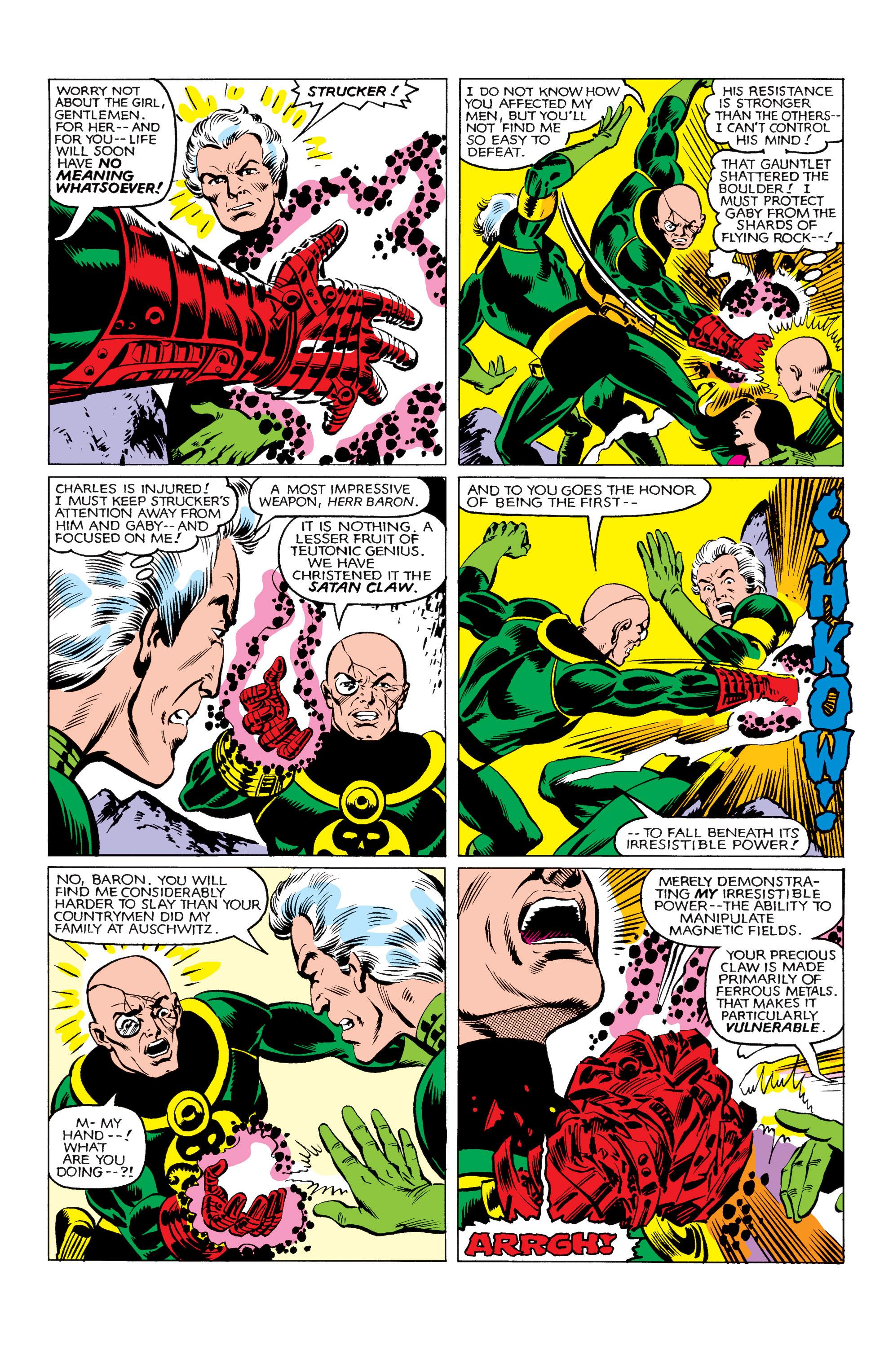Read online Uncanny X-Men (1963) comic -  Issue #161 - 19
