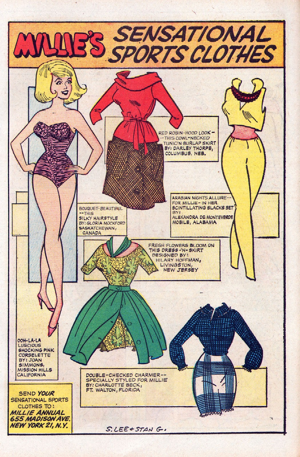 Read online Millie the Model comic -  Issue # Annual 2 - 17