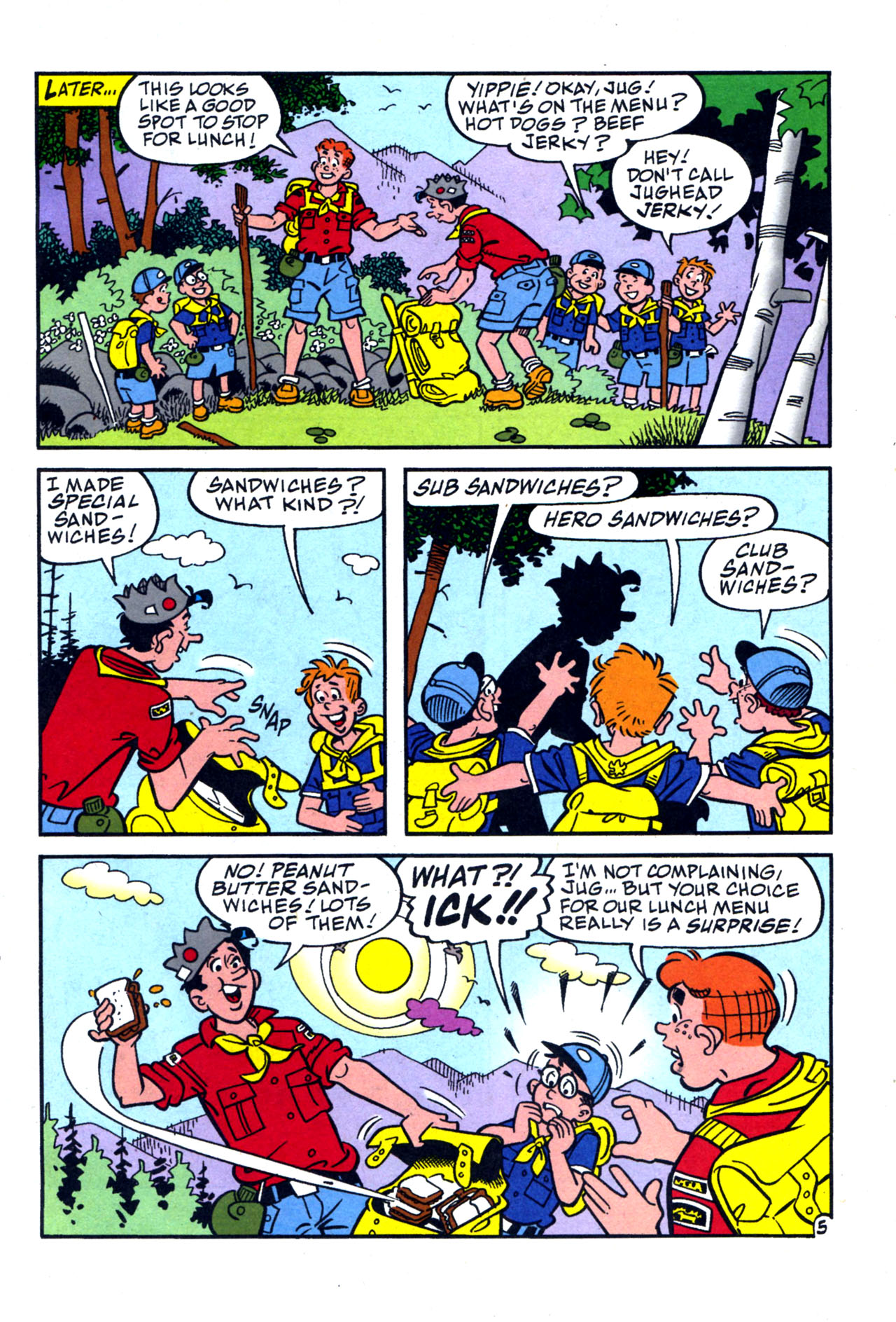 Read online Archie (1960) comic -  Issue #577 - 23
