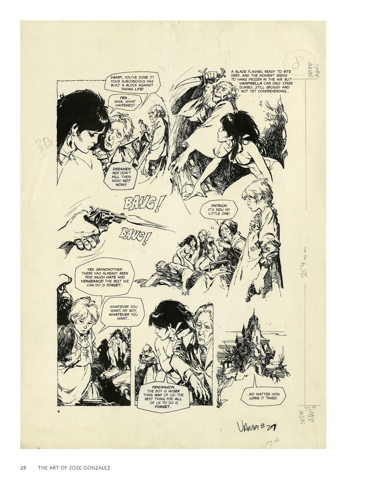 Read online The Art of Jose Gonzalez comic -  Issue # TPB (Part 1) - 29