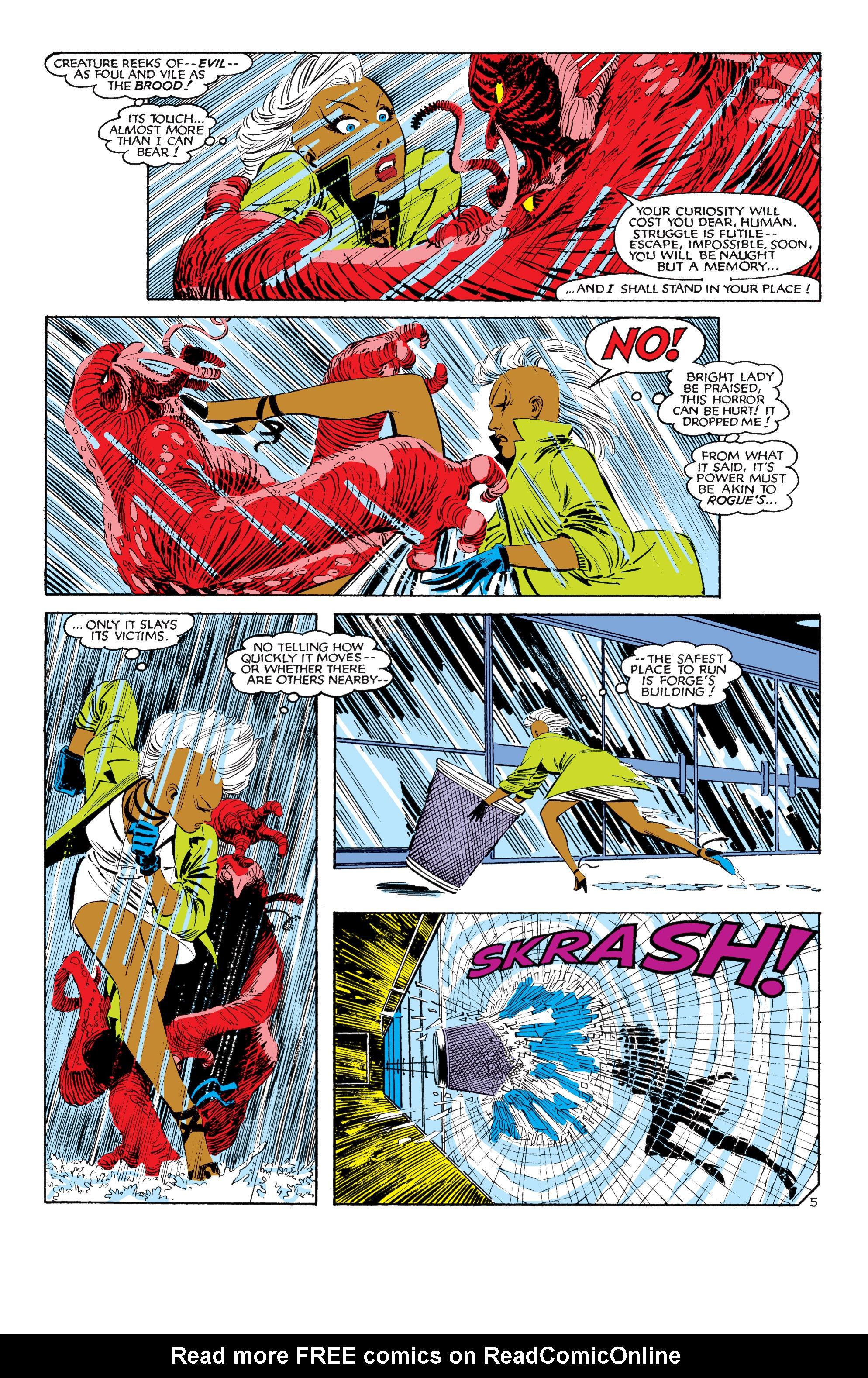 Read online Uncanny X-Men (1963) comic -  Issue #187 - 6