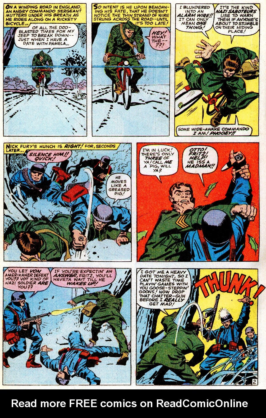 Read online Sgt. Fury comic -  Issue # _Special 5 - 4