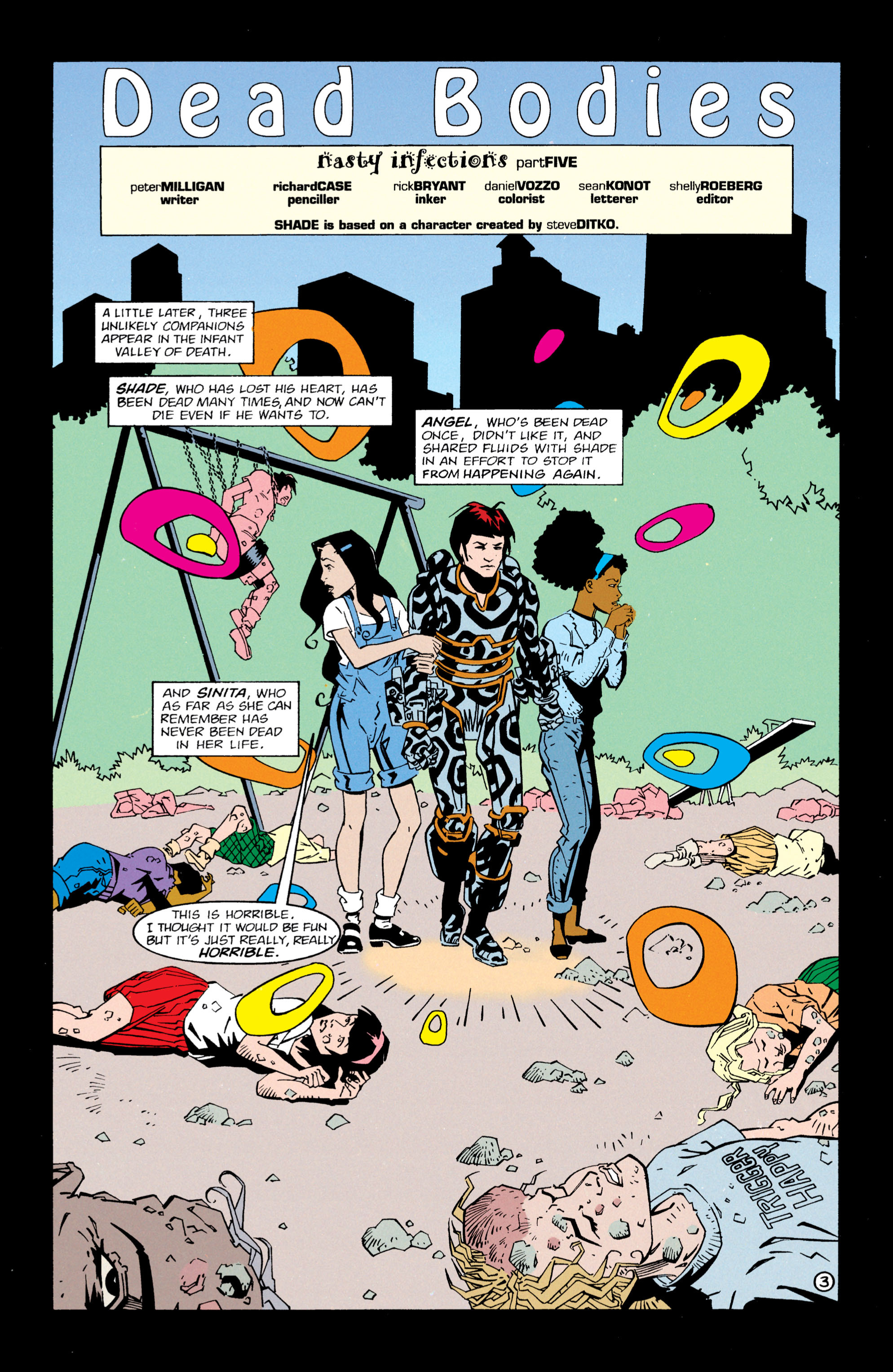 Read online Shade, the Changing Man comic -  Issue #63 - 4