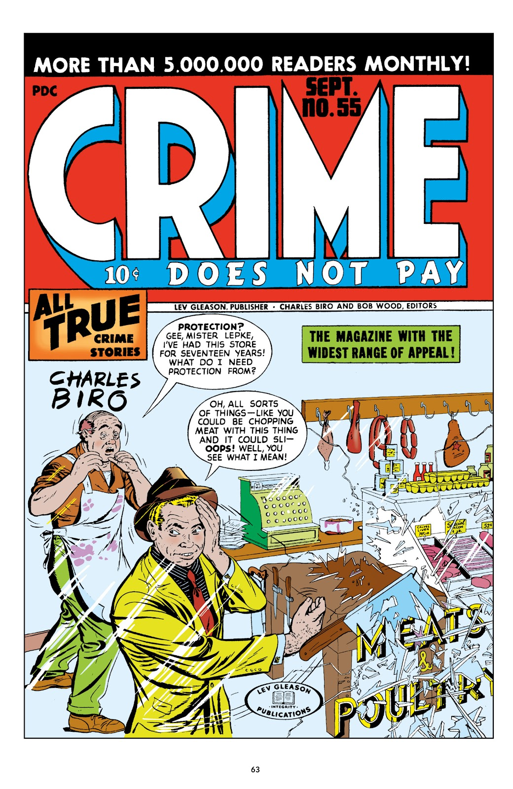 Read online Crime Does Not Pay Archives comic -  Issue # TPB 9 (Part 1) - 65