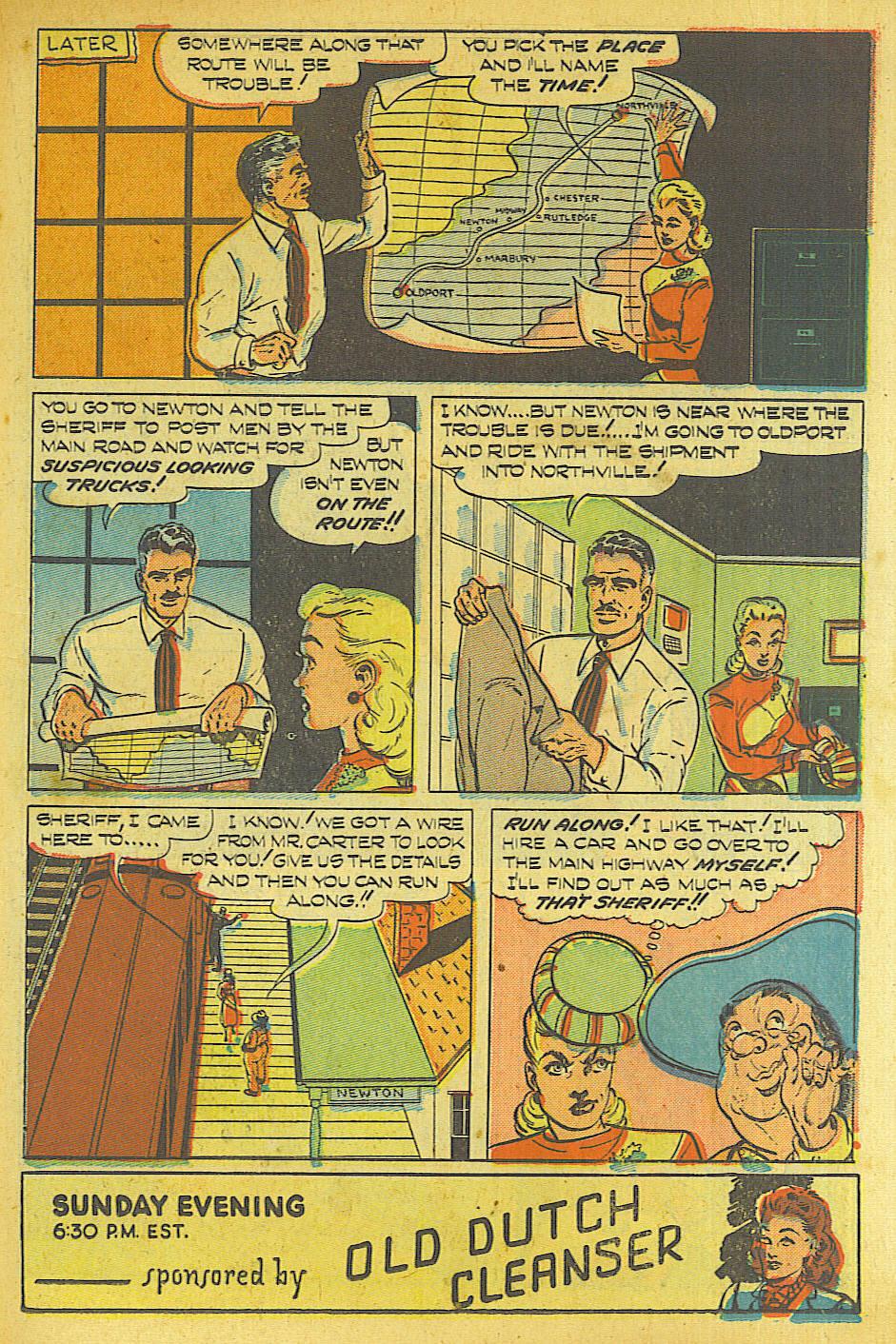 Read online Shadow Comics comic -  Issue #87 - 26