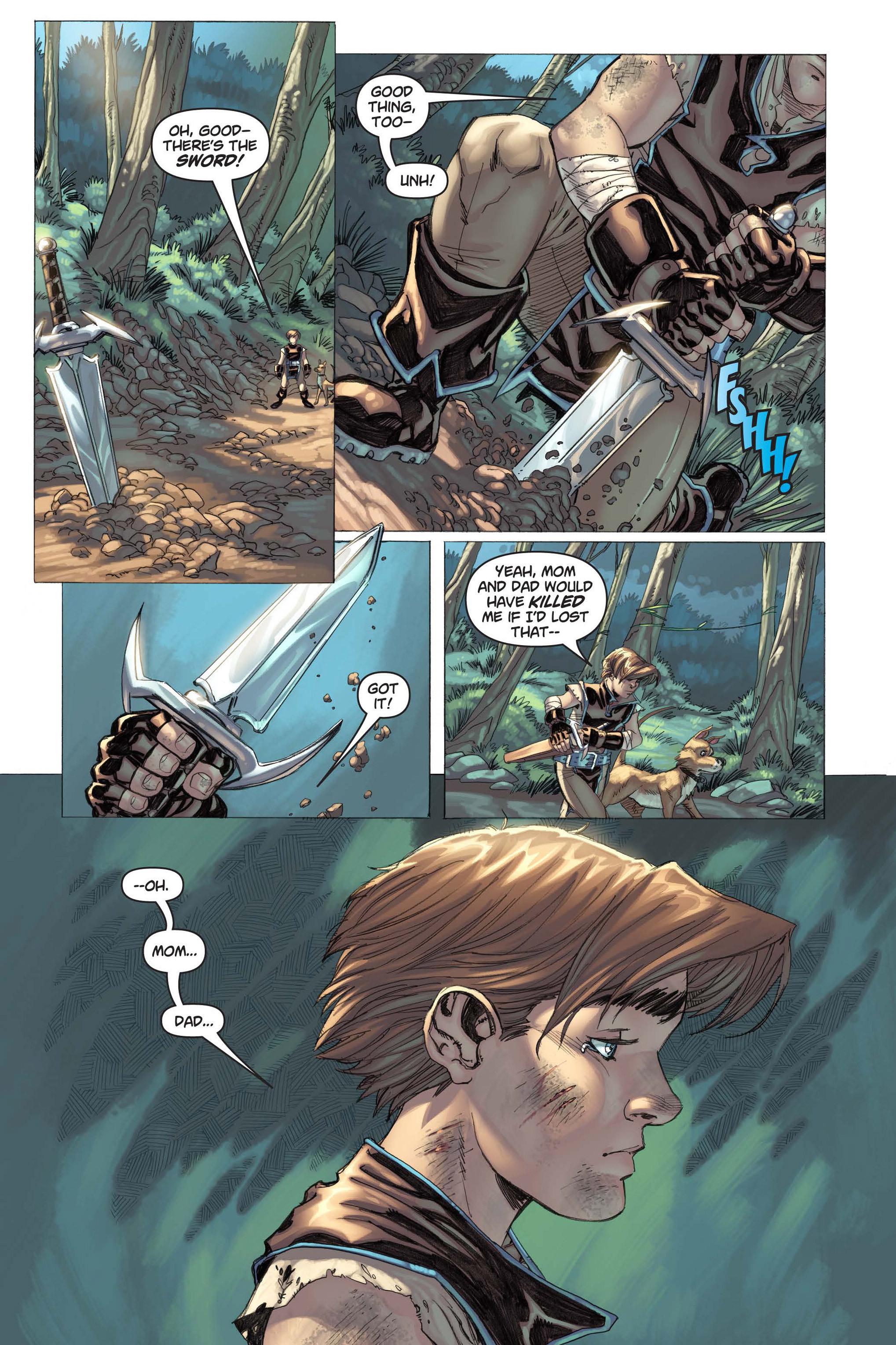Read online Skyward comic -  Issue #3 - 10