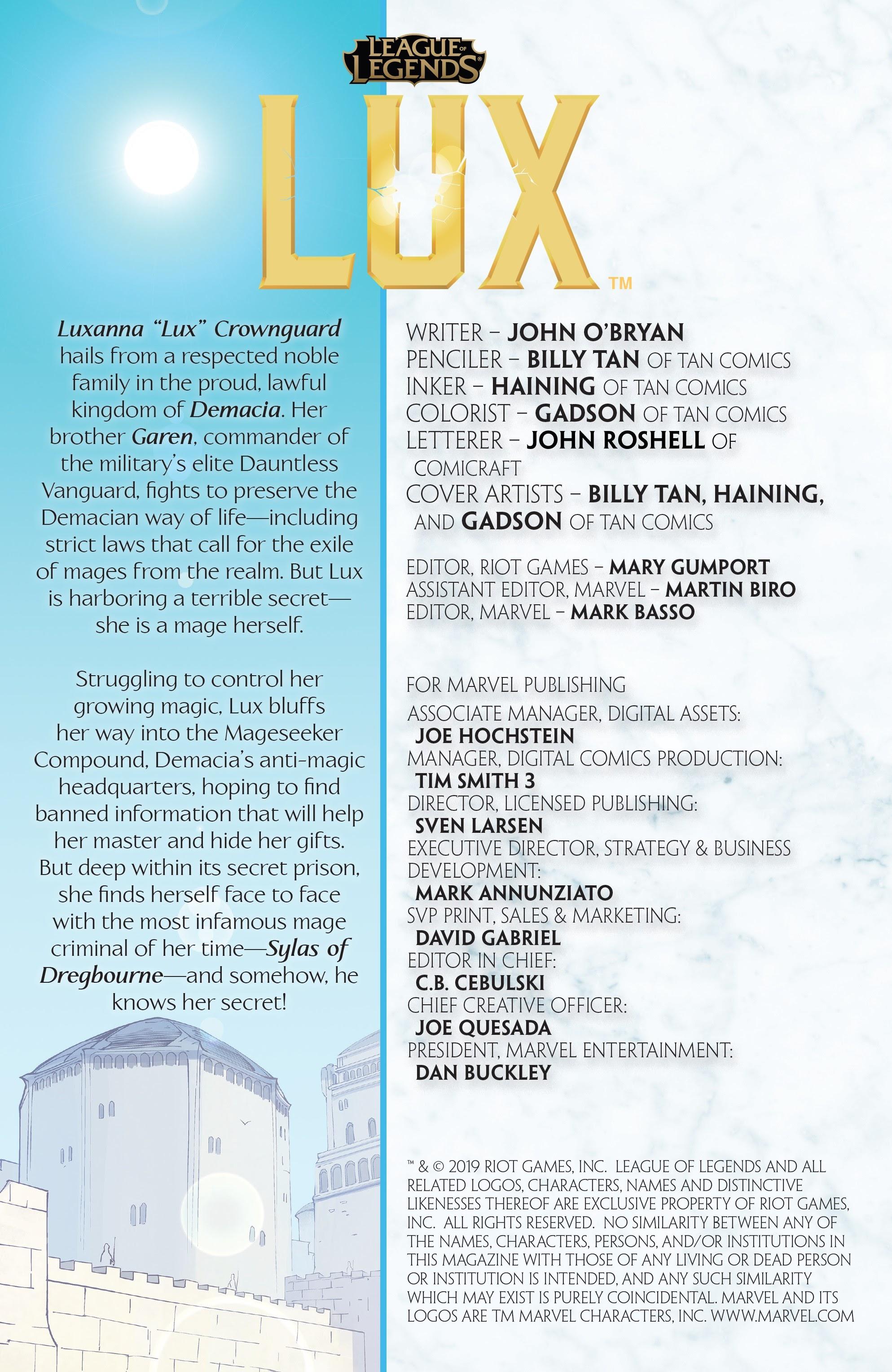 League of Legends: Lux 2 Page 2
