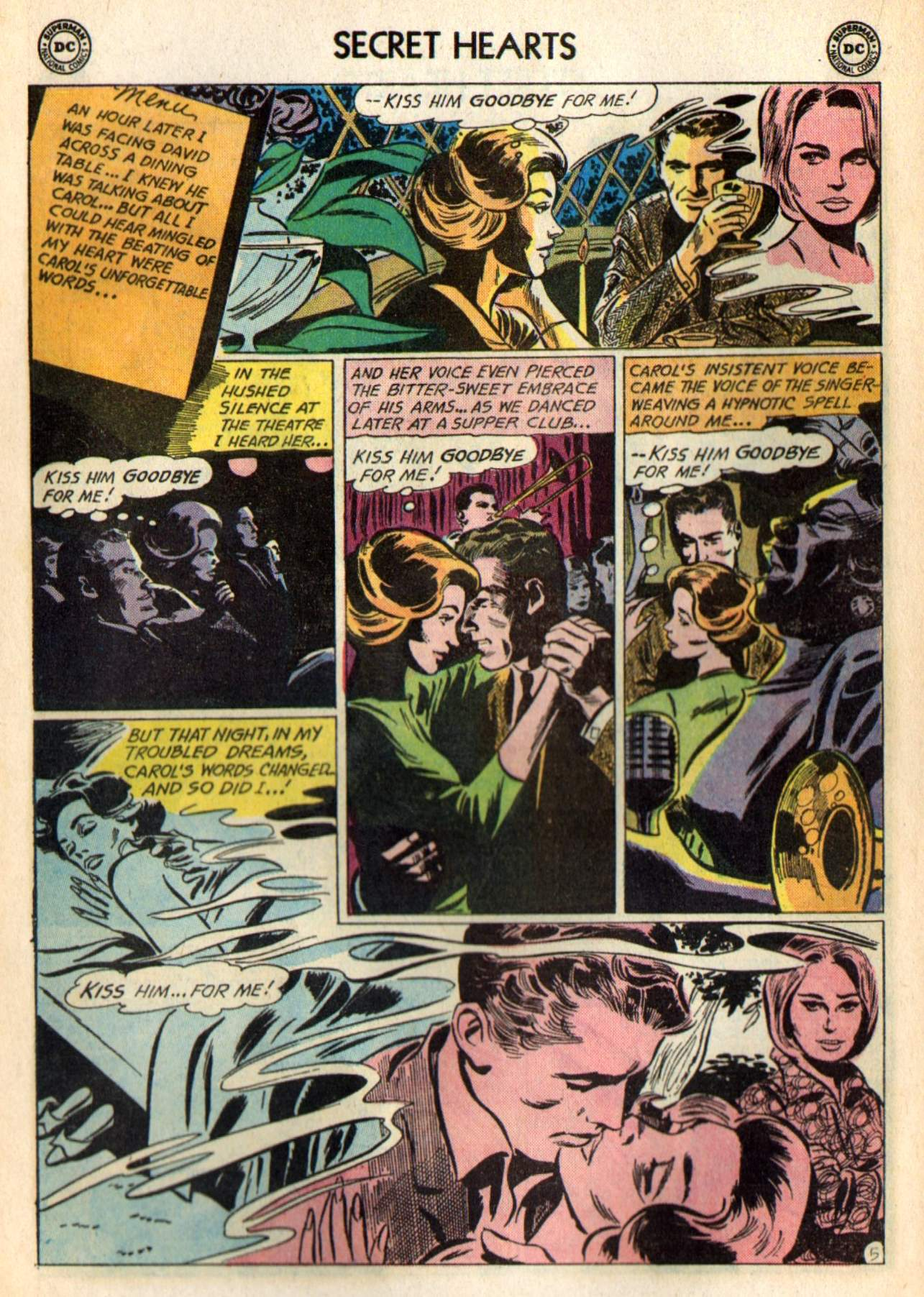 Read online Secret Hearts comic -  Issue #98 - 24