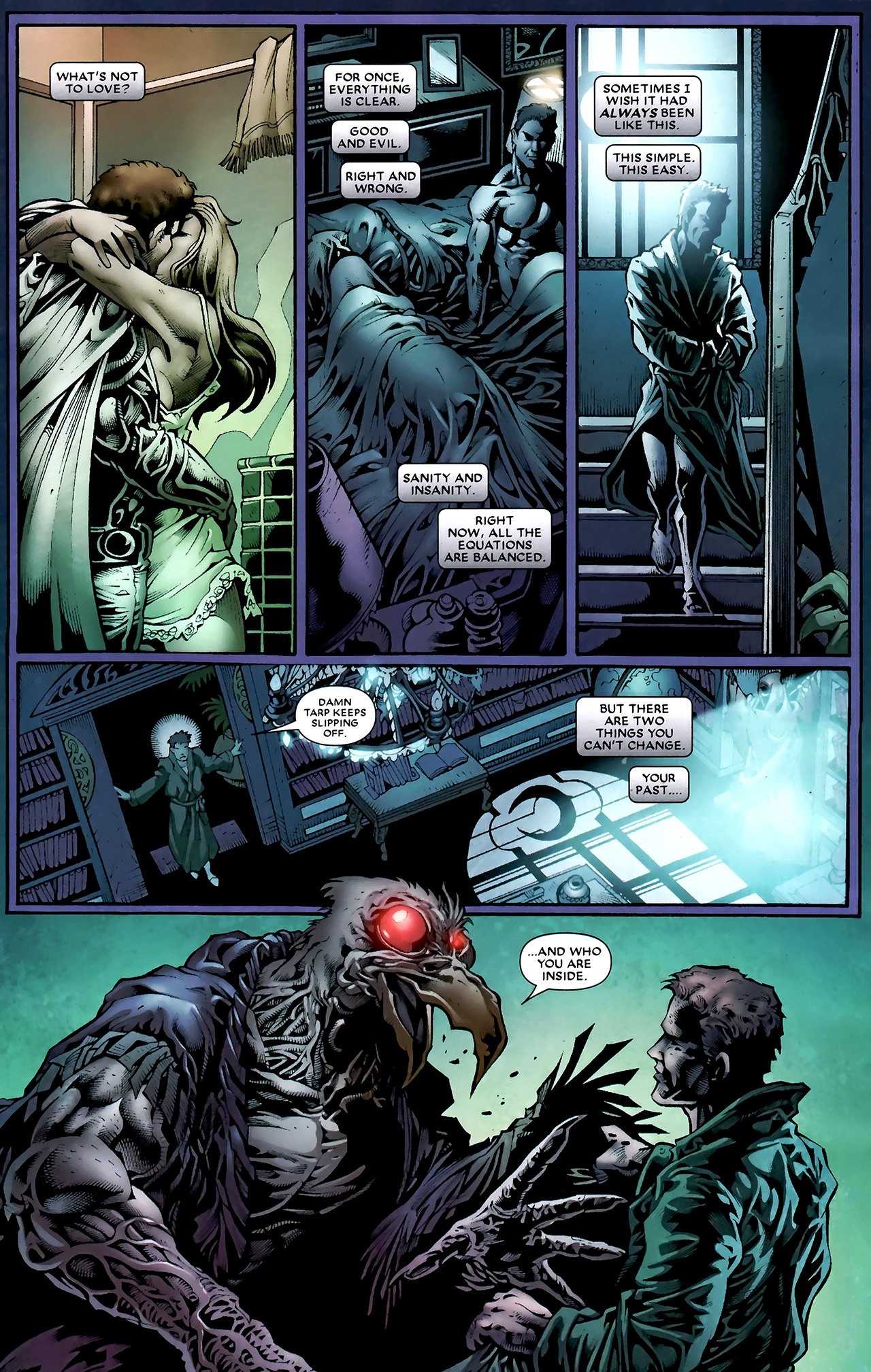 Read online Shadowland: Moon Knight comic -  Issue #1 - 13