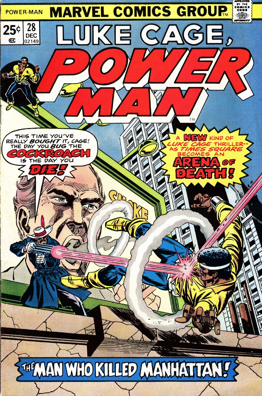 Power Man issue 28 - Page 1