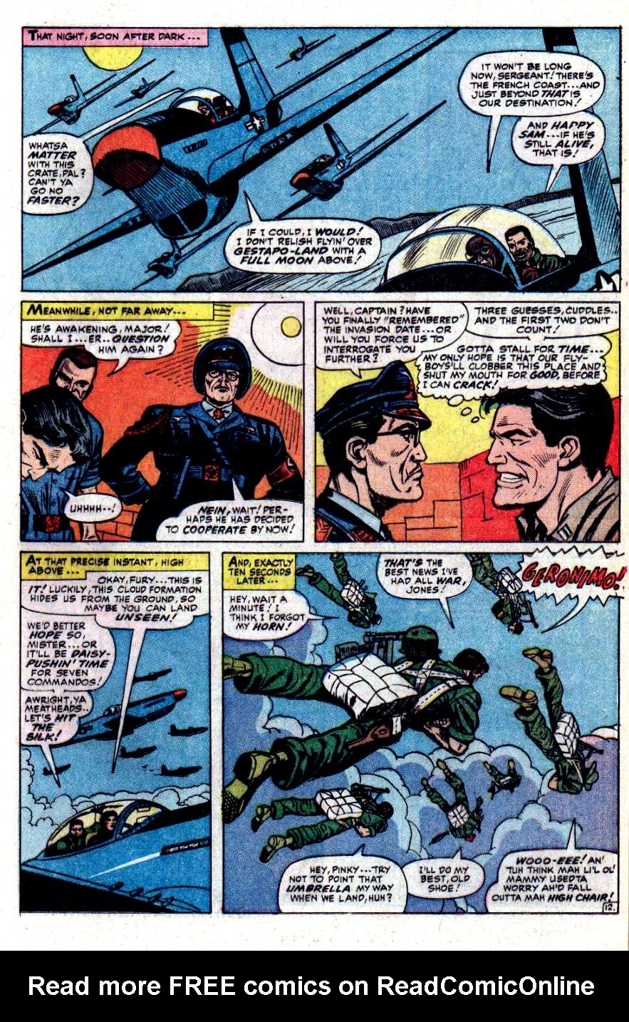 Read online Sgt. Fury comic -  Issue #31 - 17