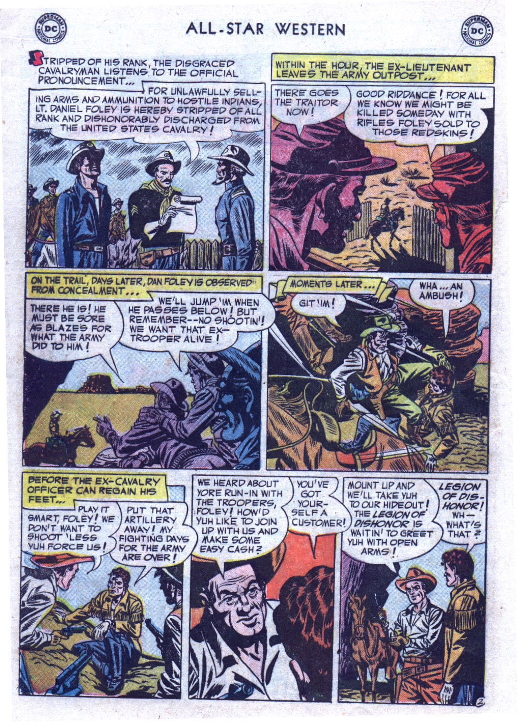 Read online All-Star Western (1951) comic -  Issue #69 - 20