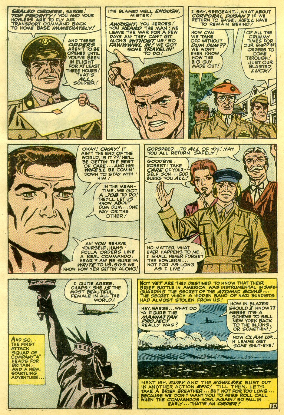 Read online Sgt. Fury comic -  Issue #82 - 30