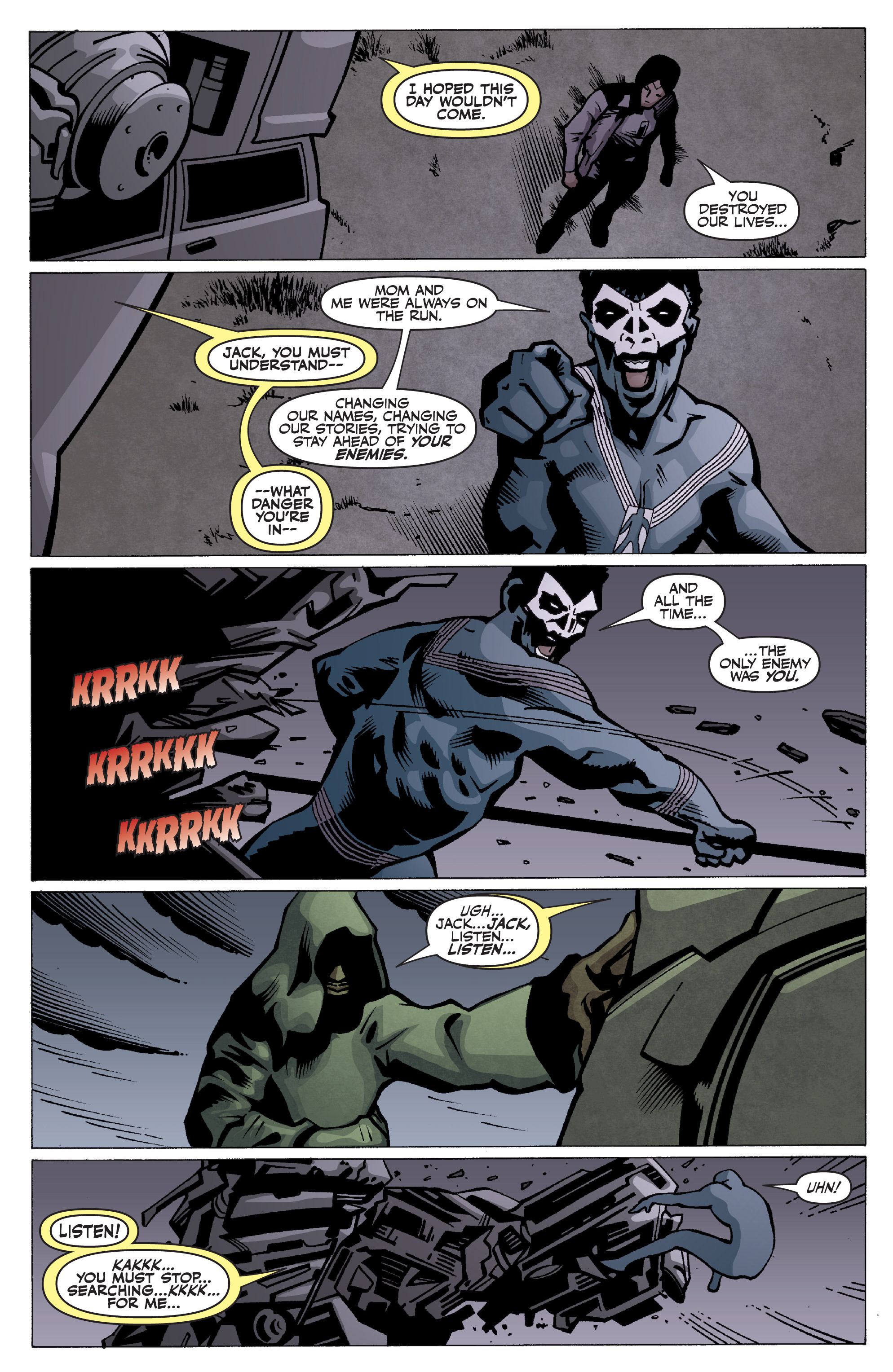 Read online Shadowman: End Times comic -  Issue #2 - 17
