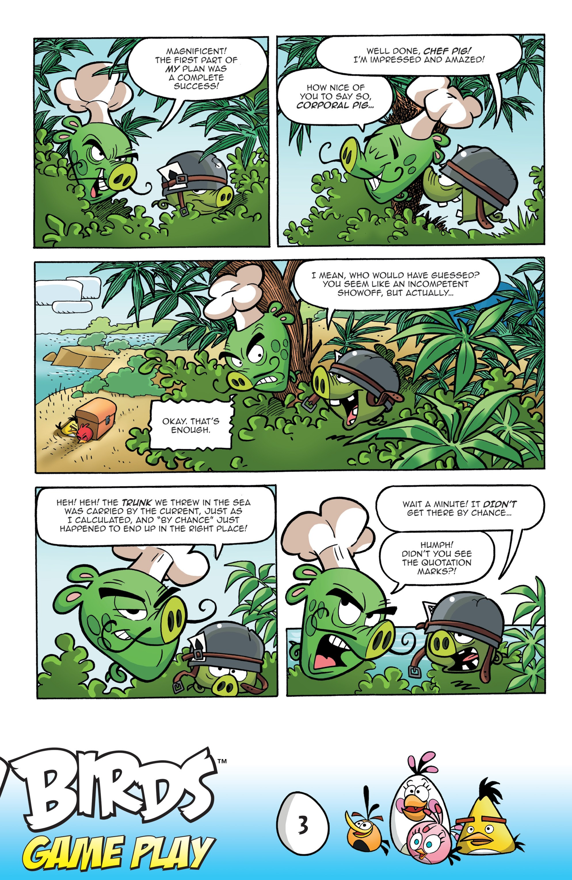 Read online Angry Birds Comics: Game Play comic -  Issue #1 - 5