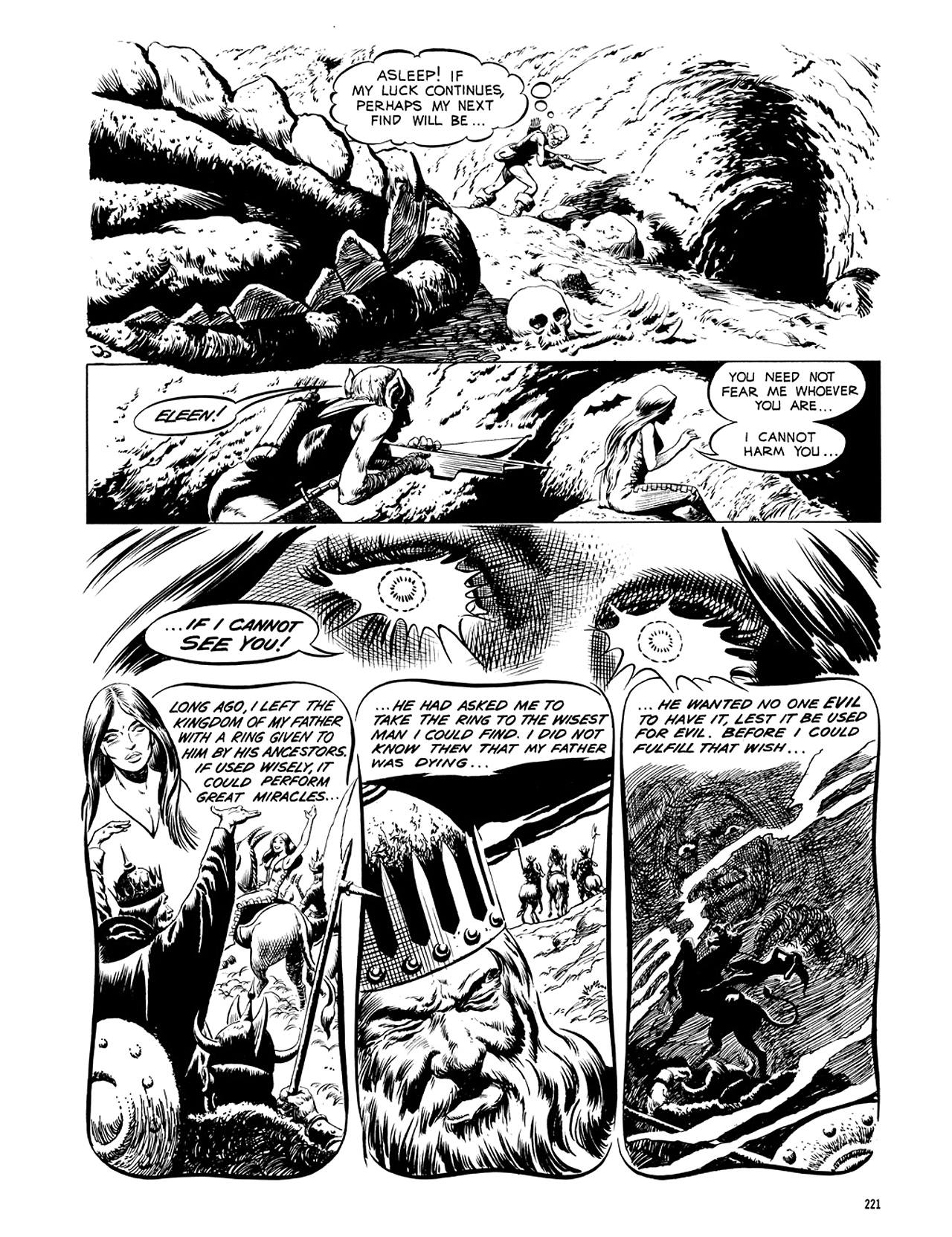 Read online Eerie Archives comic -  Issue # TPB 5 - 222