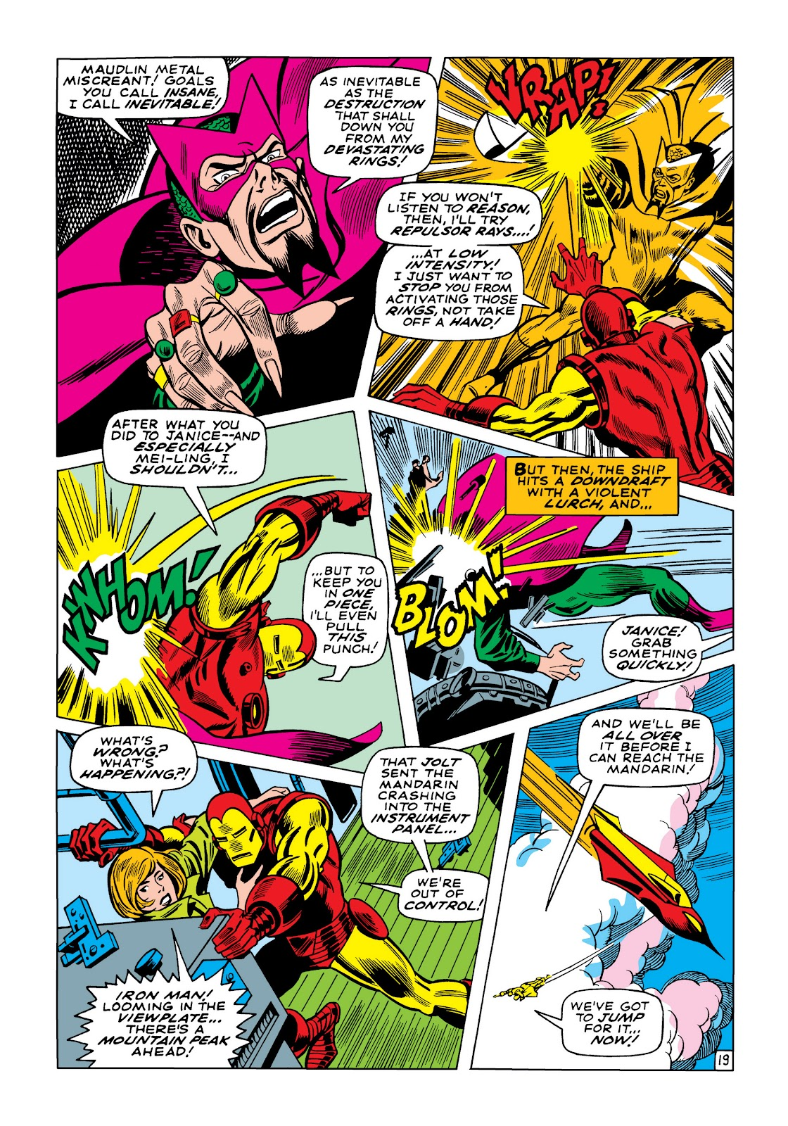 Read online Marvel Masterworks: The Invincible Iron Man comic -  Issue # TPB 5 (Part 3) - 15