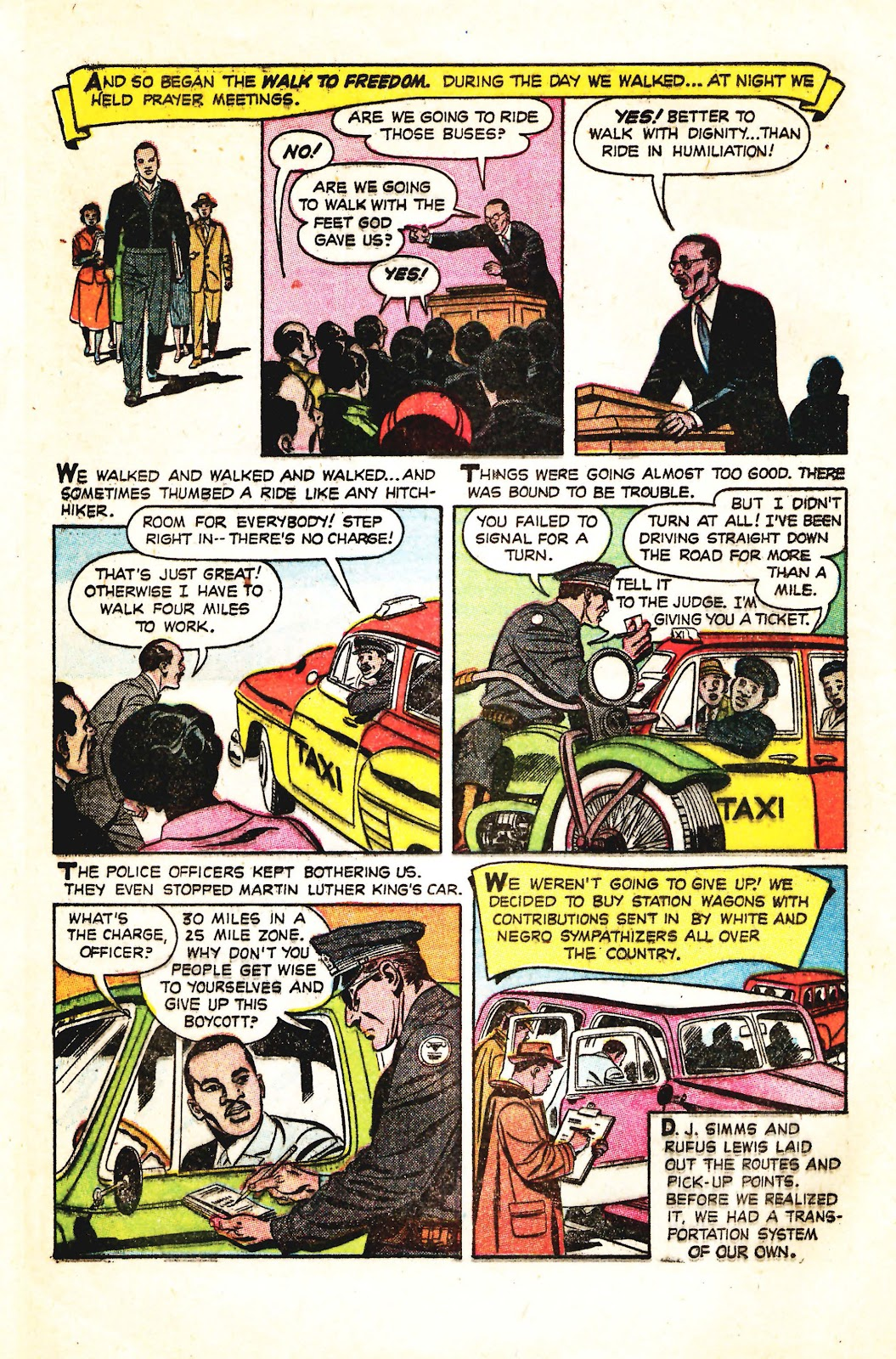 Read online Martin Luther King and the Montgomery Story comic -  Issue # Full - 6