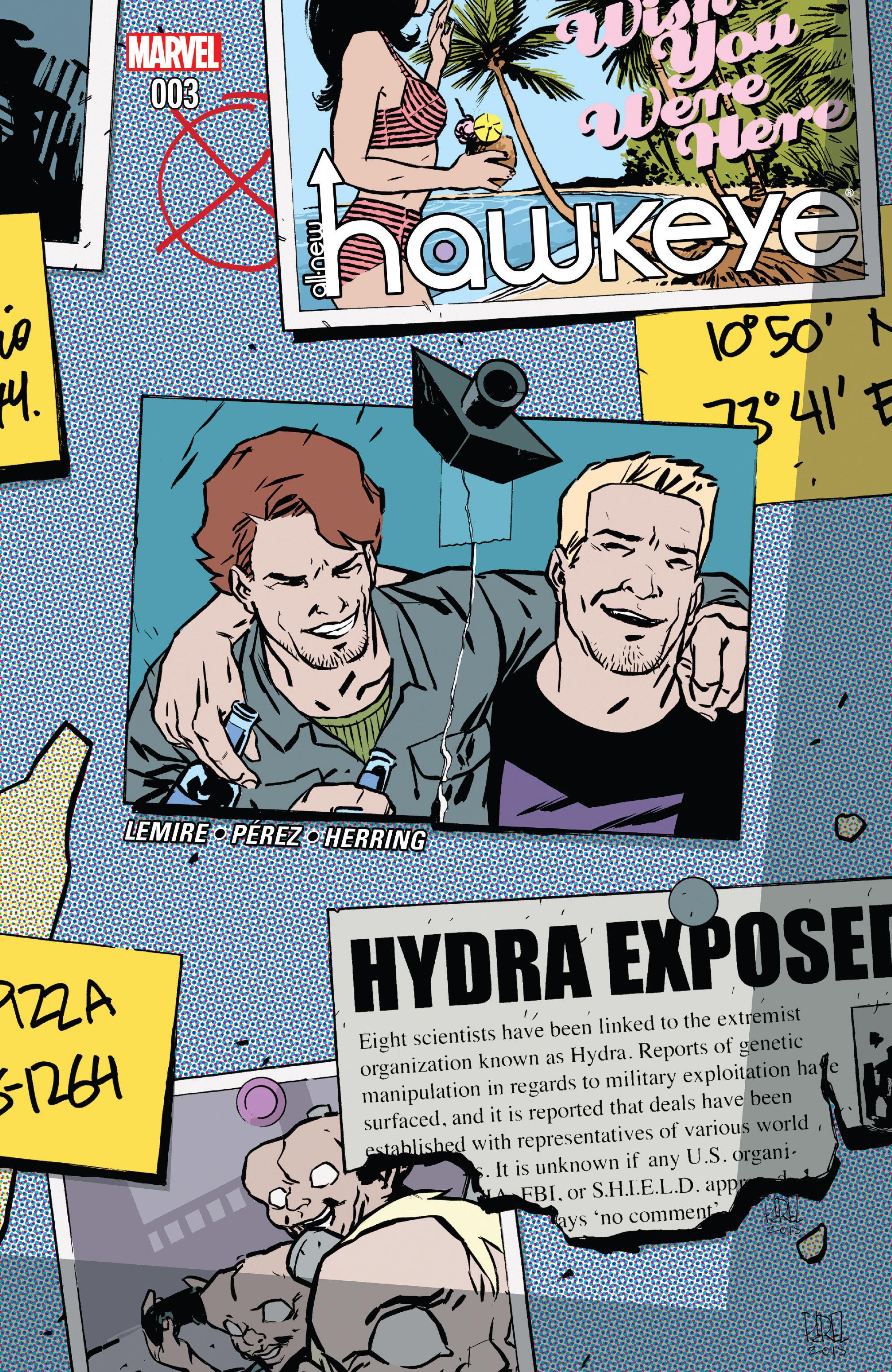 Read online All-New Hawkeye (2016) comic -  Issue #3 - 1