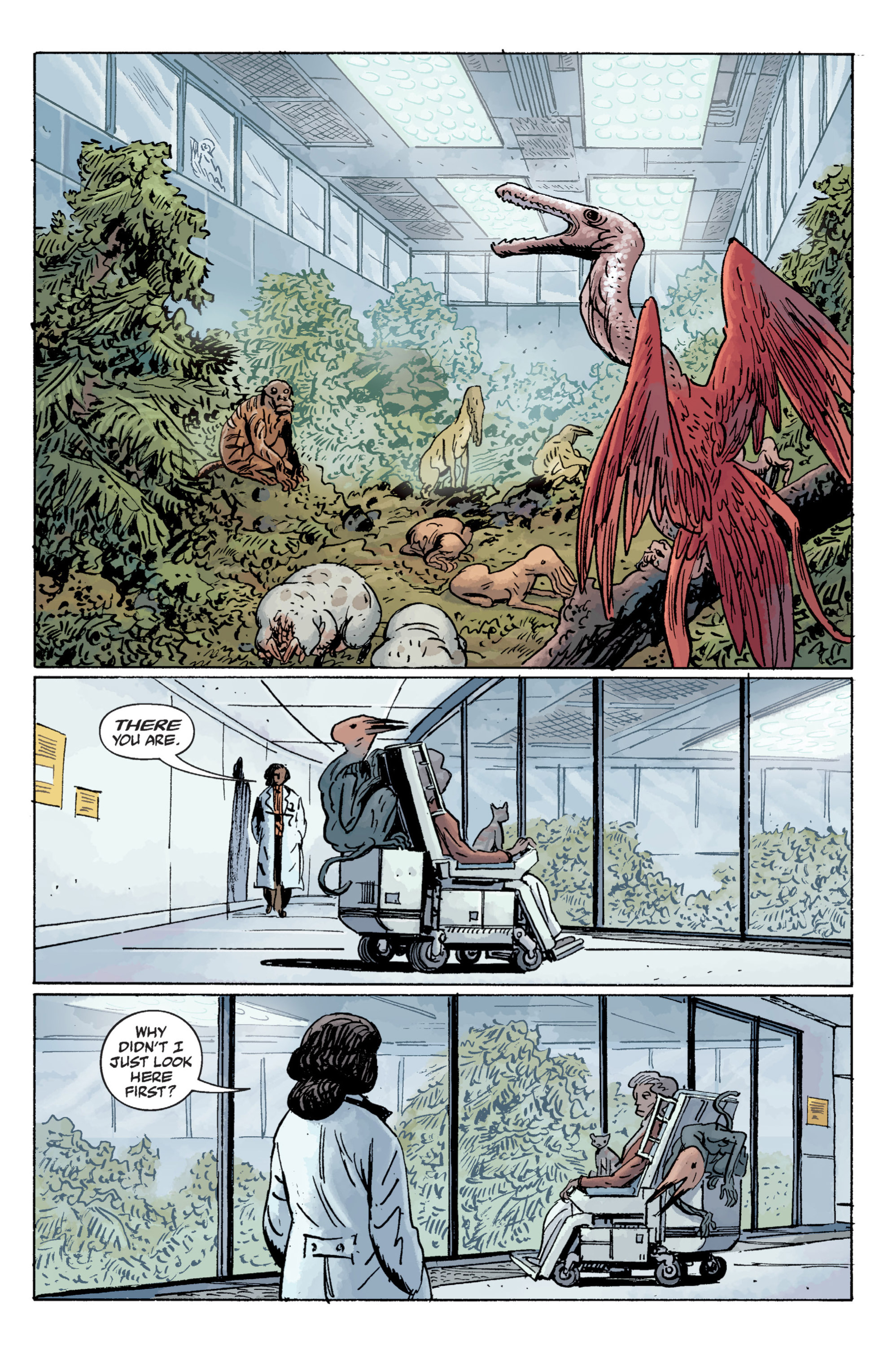 Read online B.P.R.D. (2003) comic -  Issue # TPB 11 - 23