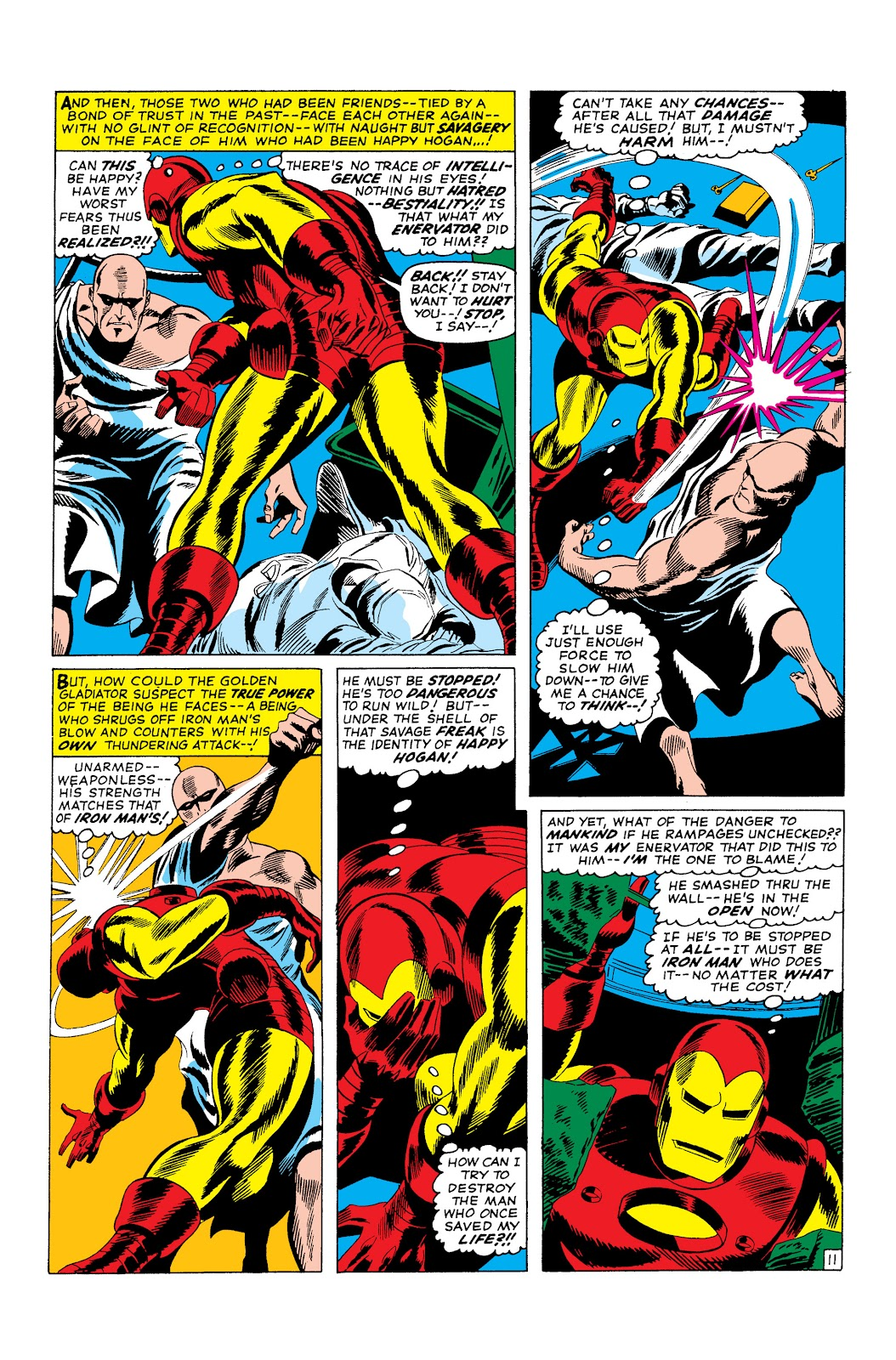 Read online Marvel Masterworks: The Invincible Iron Man comic -  Issue # TPB 3 (Part 2) - 98