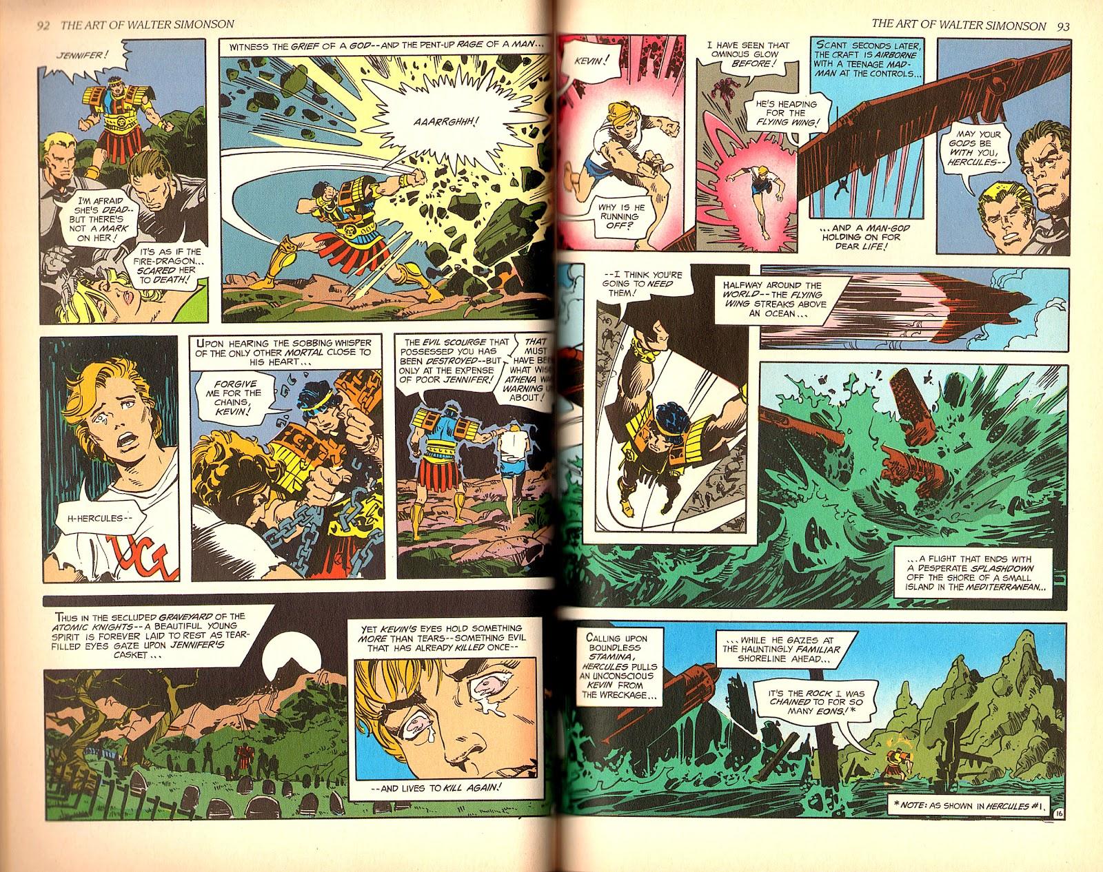 Read online The Art of Walter Simonson comic -  Issue # TPB - 48