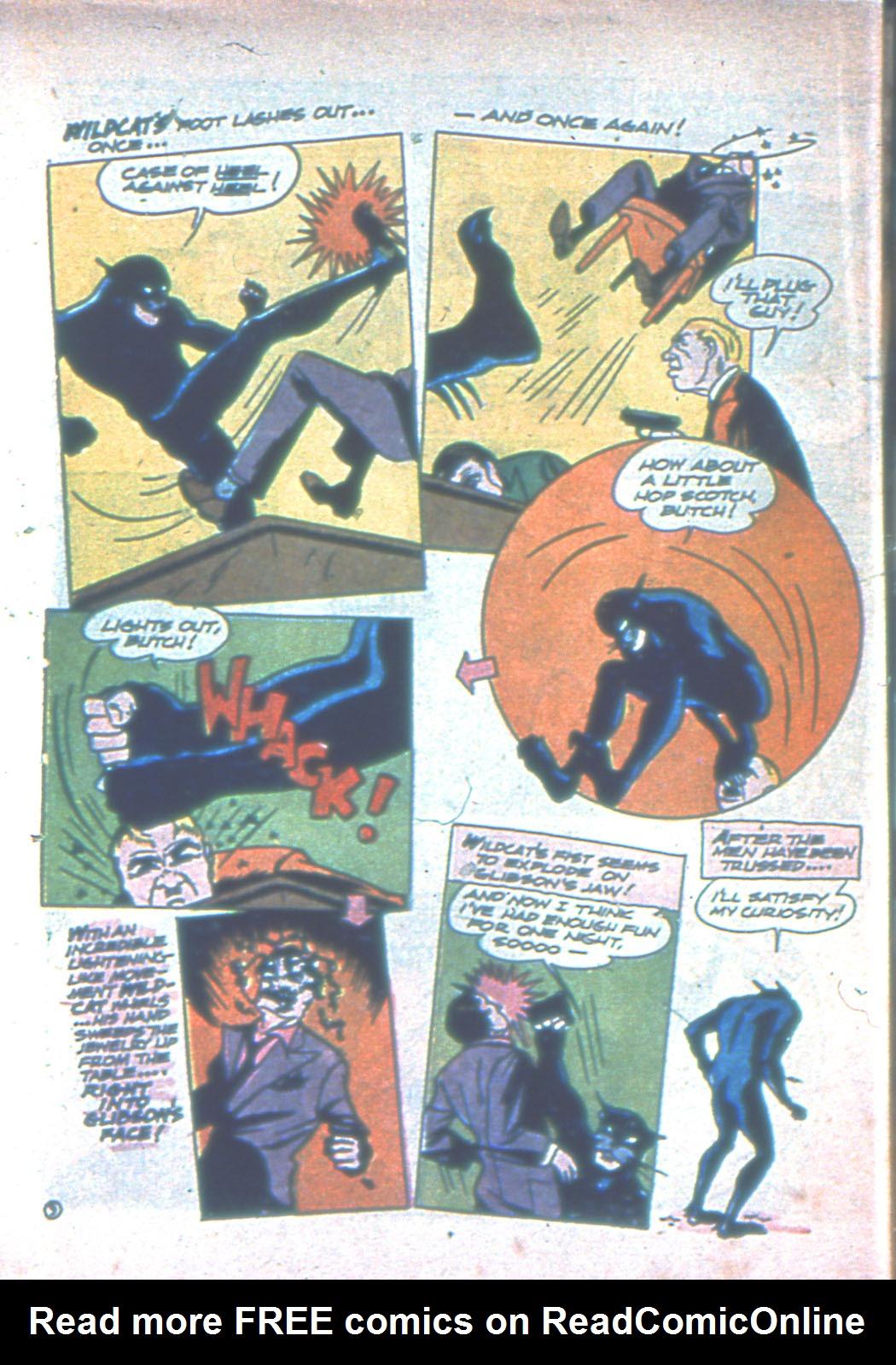 Read online Sensation (Mystery) Comics comic -  Issue #3 - 64