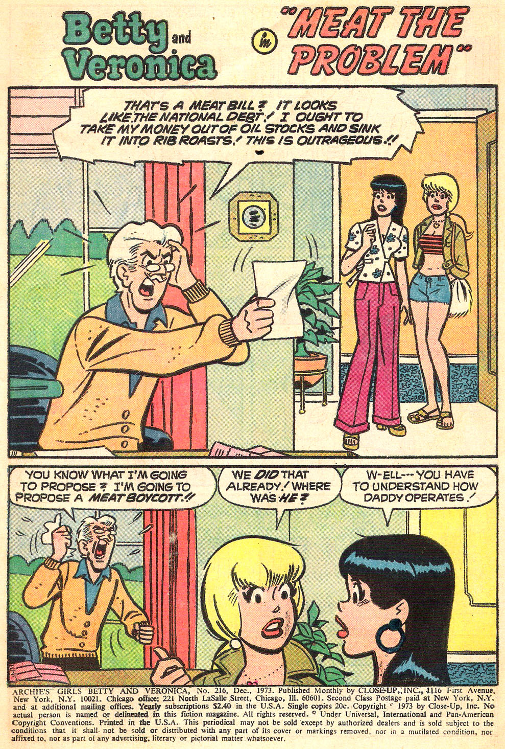 Read online Archie's Girls Betty and Veronica comic -  Issue #216 - 3