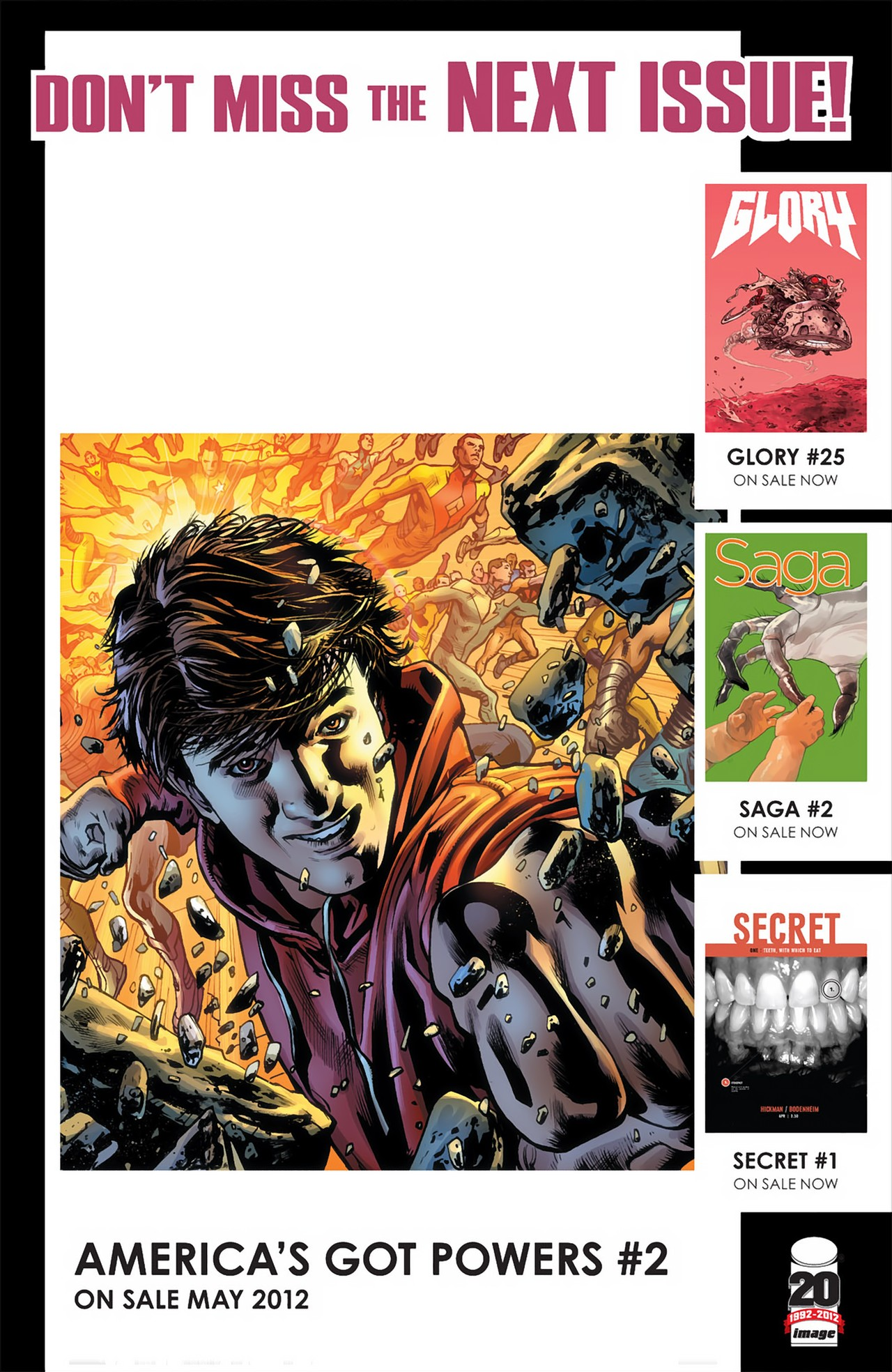Read online America's Got Powers comic -  Issue #2 - 34
