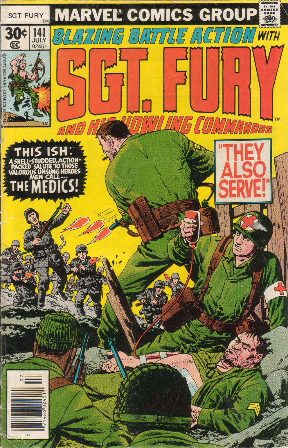 Read online Sgt. Fury comic -  Issue #141 - 1