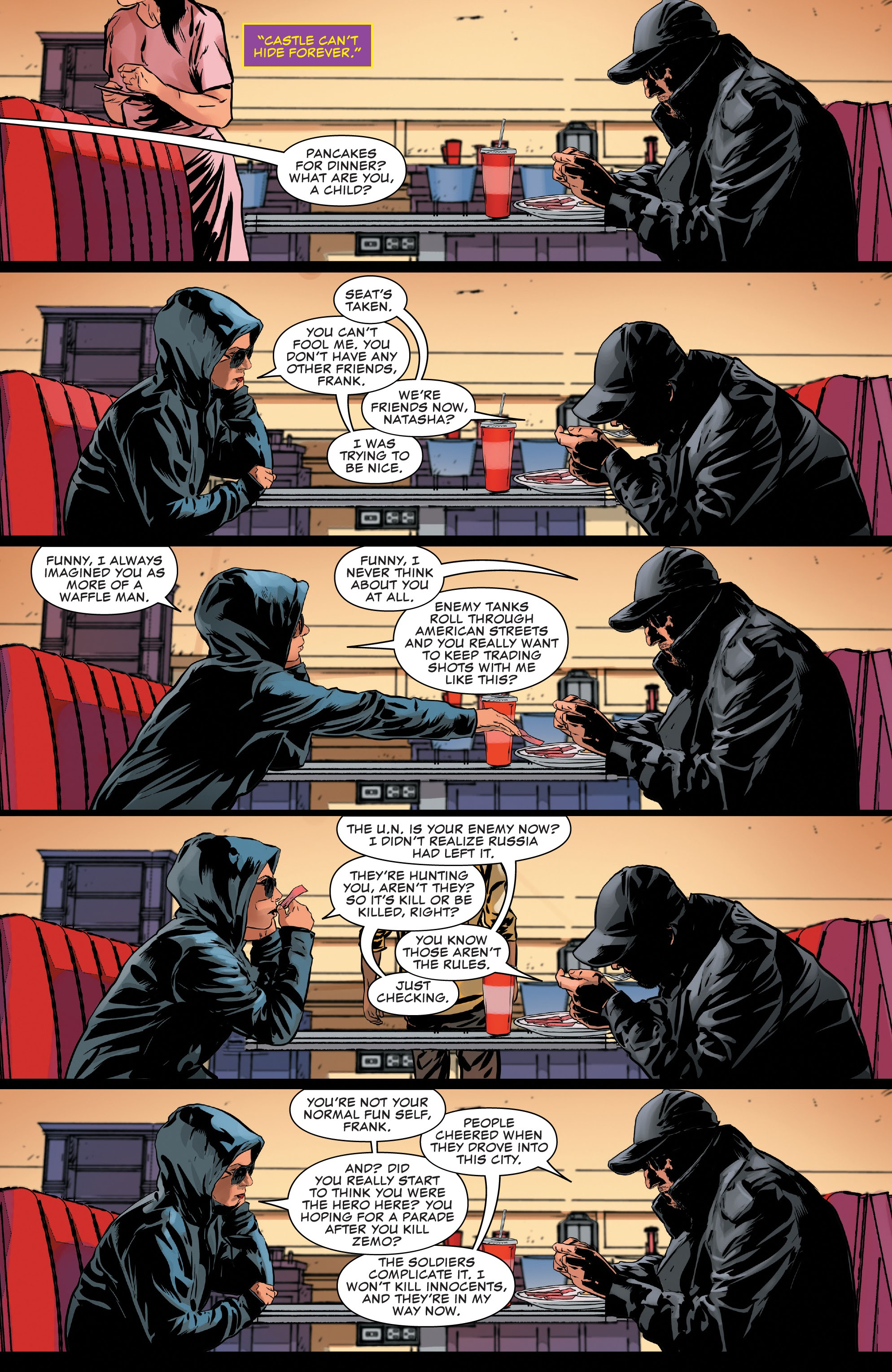 Read online The Punisher (2018) comic -  Issue #14 - 5